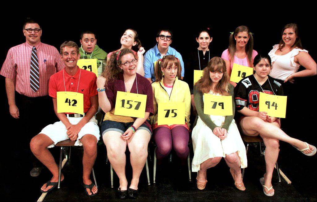 "Mundelein Summer Theatre will stage ""The 25th Annual Putnam County Spelling Bee"" at Mundelein High School."