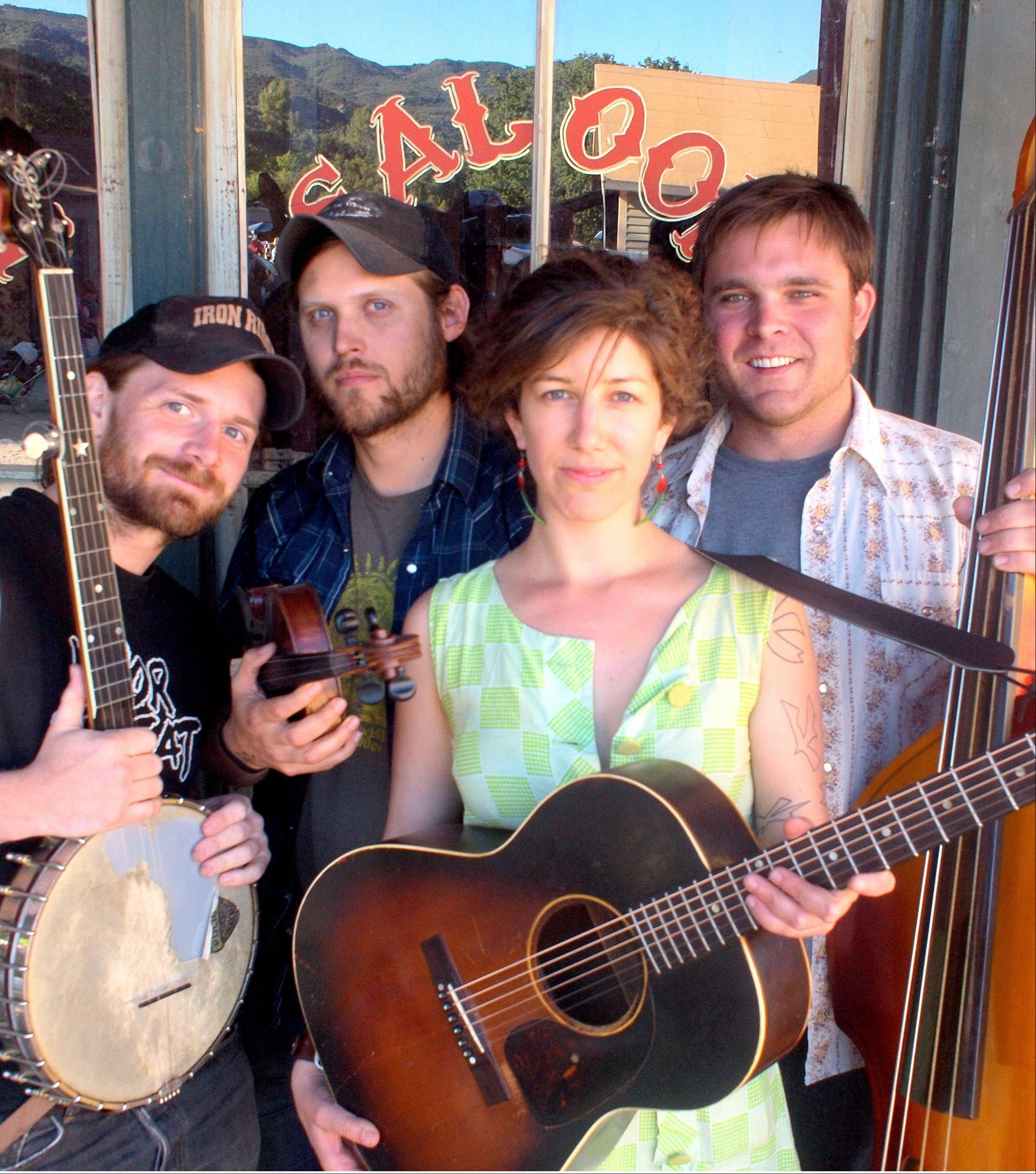 Old Sledge, the Virginia folk string band, will be one of the featured performers on Sunday, July 17 at Woodstock Folk Festival.