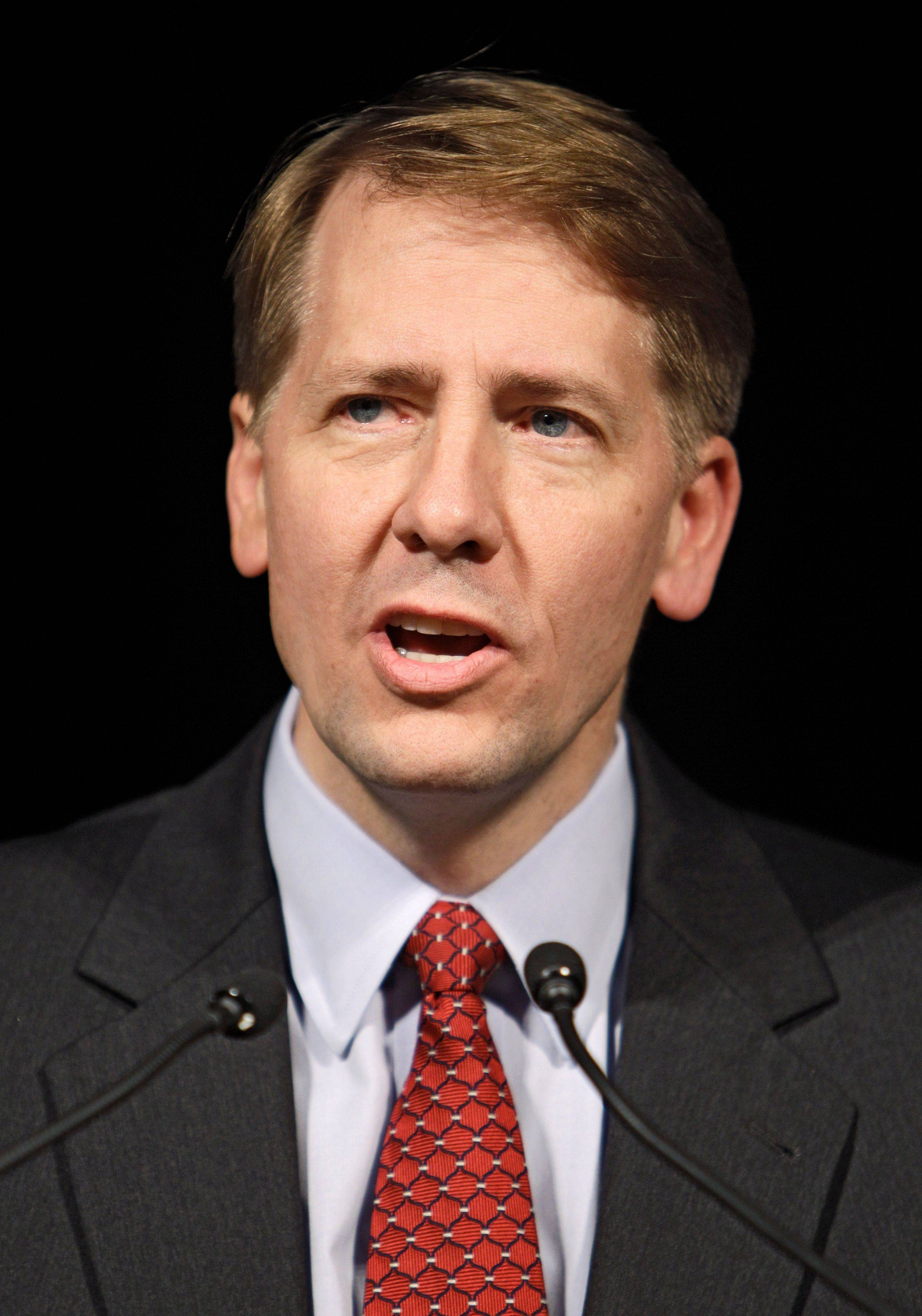 President Barack Obama intends to nominate former Ohio Attorney General Richard Cordray, shown, to head a new consumer financial protection bureau, a central feature of a law that overhauled banking regulations.