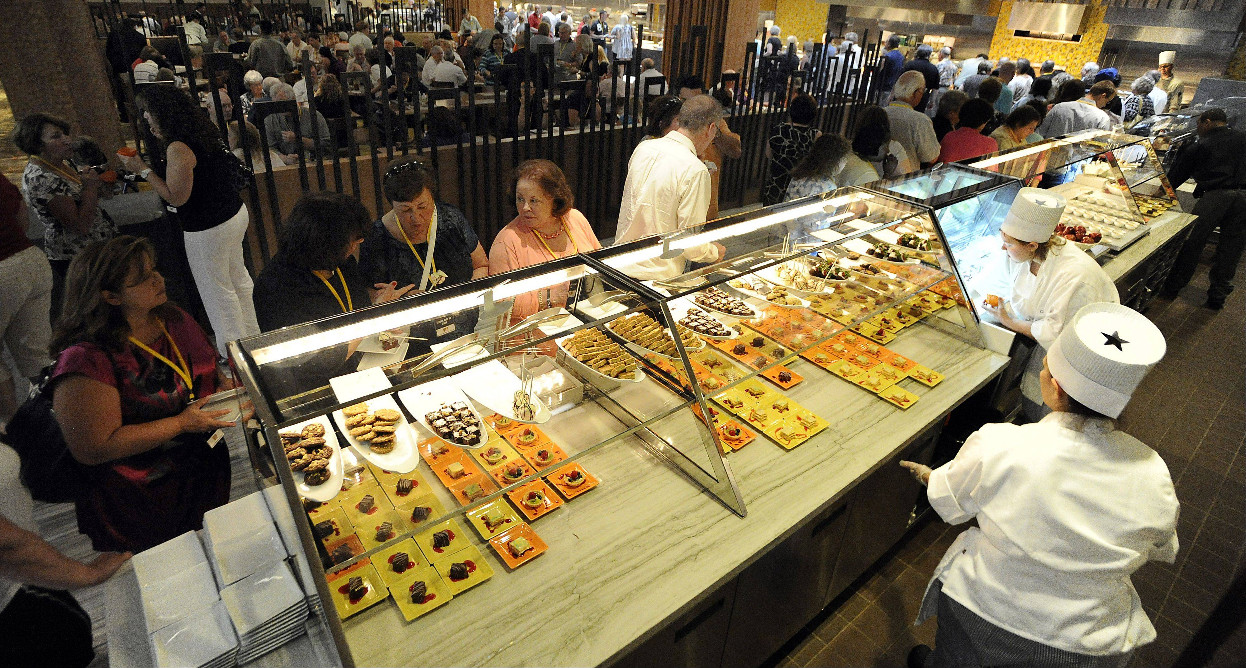 images the rivers casino opens for des plaines residents rh dailyherald com rivers casino buffet lunch menu river casino buffet chicago