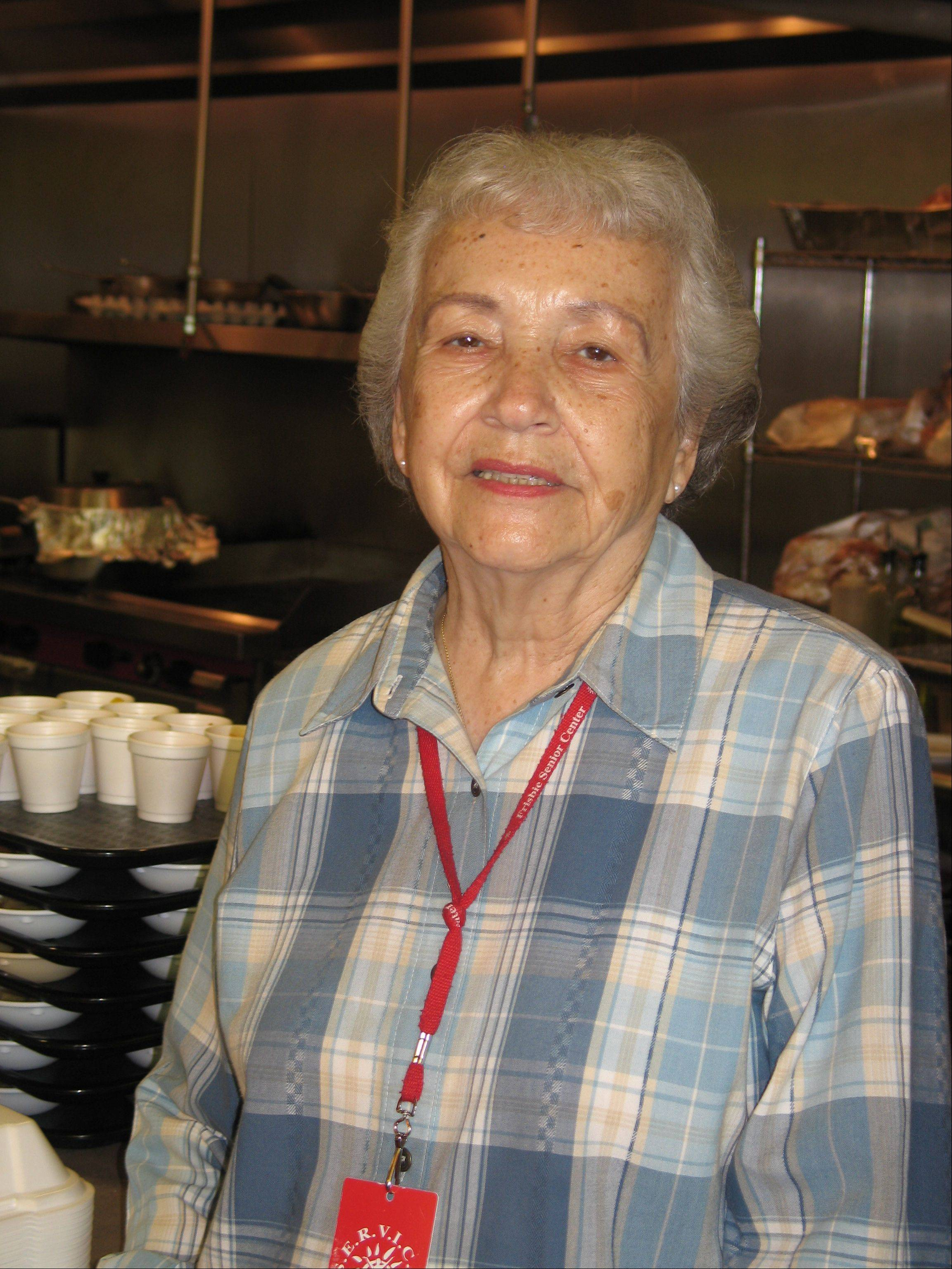 If she were a kid today, Louise Sadler, a volunteer for the Frisbie Senior Center cafe, no doubt would be playing softball every weekend for some highly competitive travel league.
