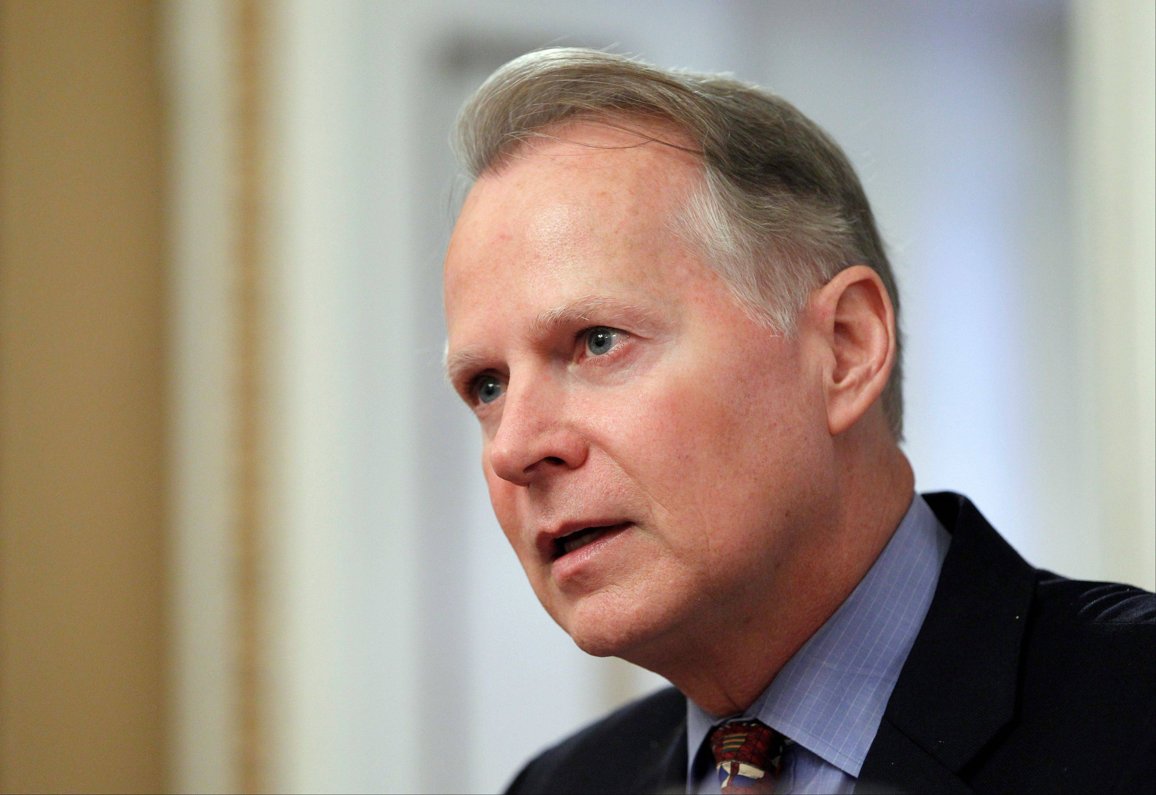 "Rep. David Dreier, chairman of the House Rules Committee, opens a hearing on the so-called ""cut, cap and balance"" plan proposed by tea party-backed House Republicanson Monday."