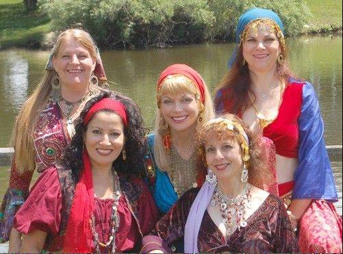 Troupe Namaste and its director Jenny Hennek, bring the world of Middle Eastern Dance to the Indian Trails Public Library at 7 p.m. Thursday, July 21.