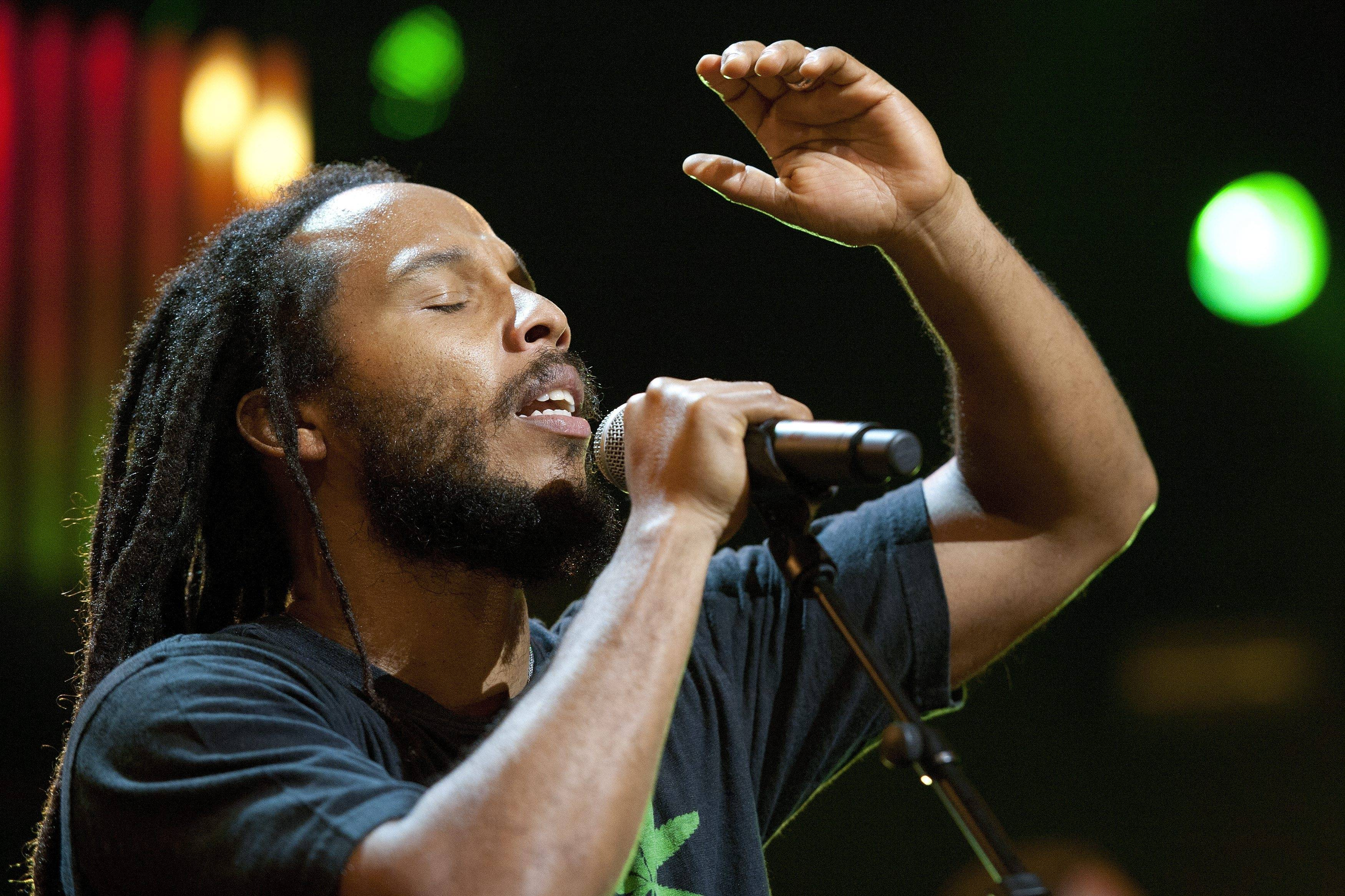 "Jamaican singer Ziggy Marley reflects on lessons learned from his dad, Bob Marley, on ""Wild and Free."""