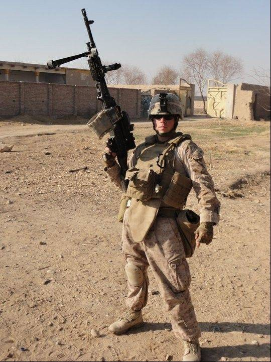 A parade for Lance Cpl. Kevin Cronin, who served in Operation Enduring Freedom in Afghanistan, will be held Saturday in Libertyville.