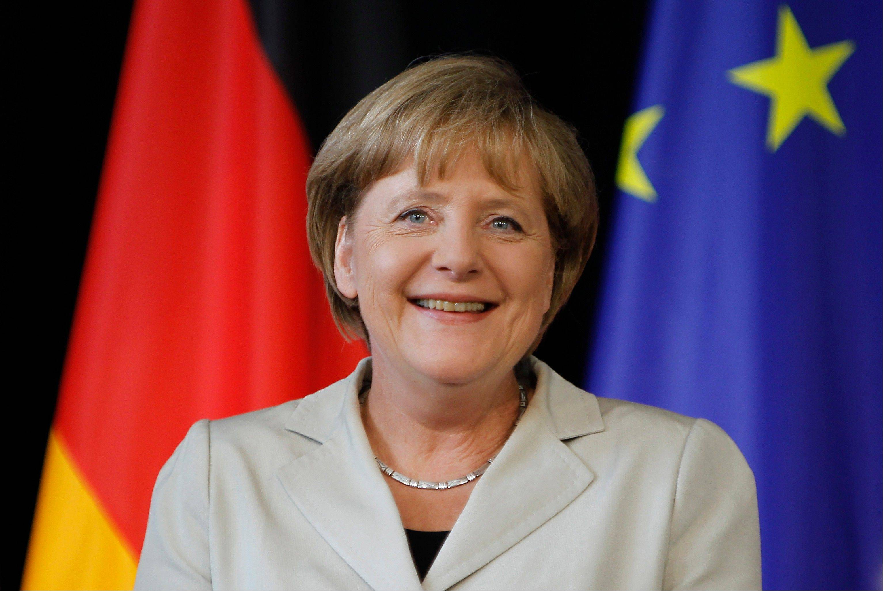 German Chancellor Angela Merkel warned Tuesday that there are no easy answers to the Greek debt crisis that threatens Euro zone financial stability.