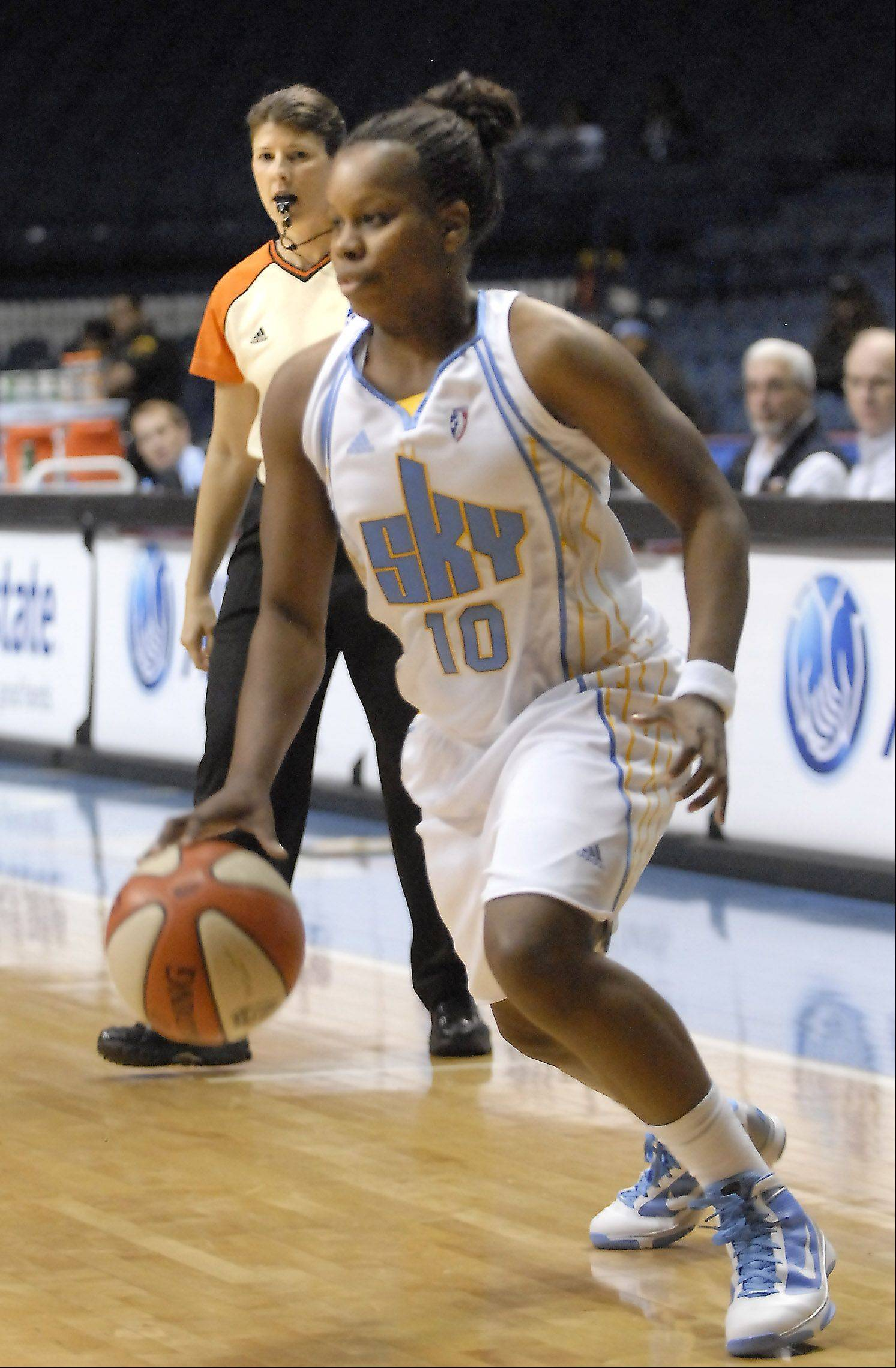 Sky guard Epiphanny Prince has been selected to represent the Eastern Conference in Saturday�s WBNA all-star game in San Antonio.