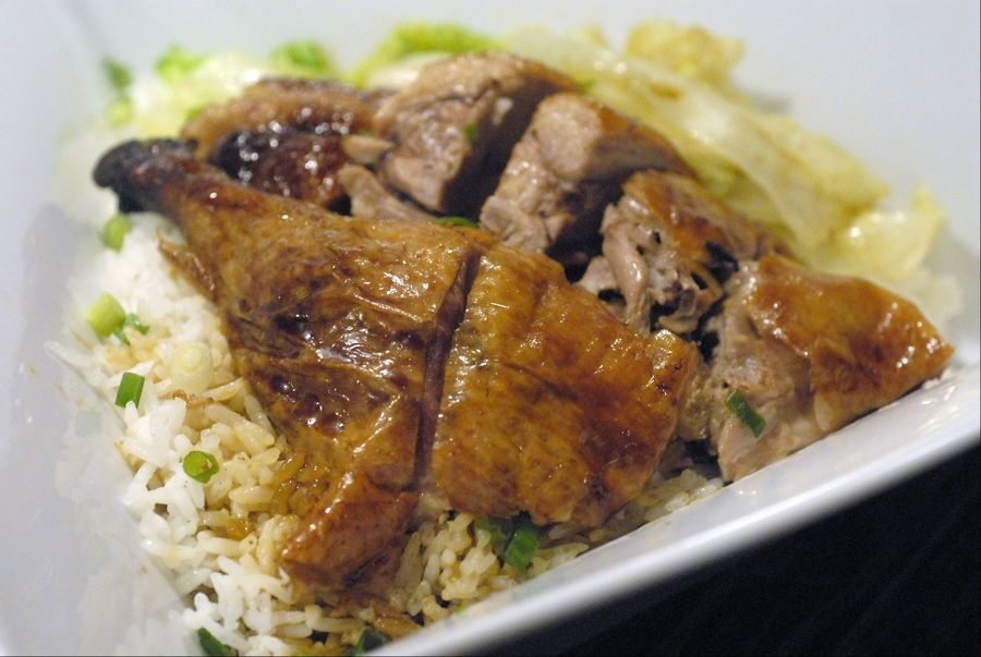 Roast duck with rice, MianBar