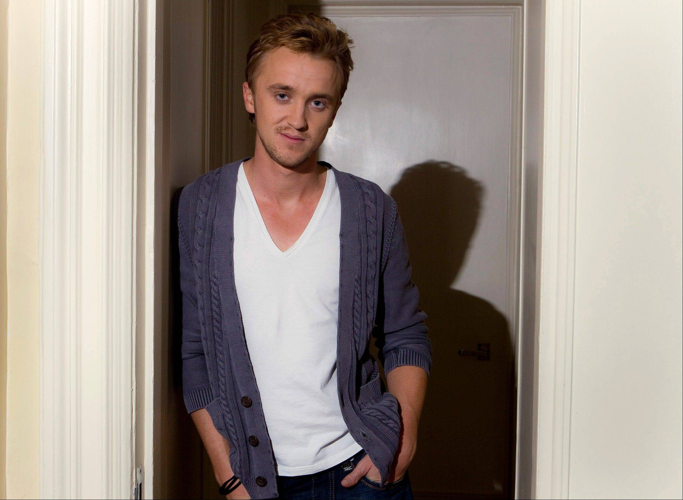"Actor Tom Felton, who plays Draco Malfoy, said the ending of the ""Harry Potter"" franchise is bittersweet for both the cast and the fans."