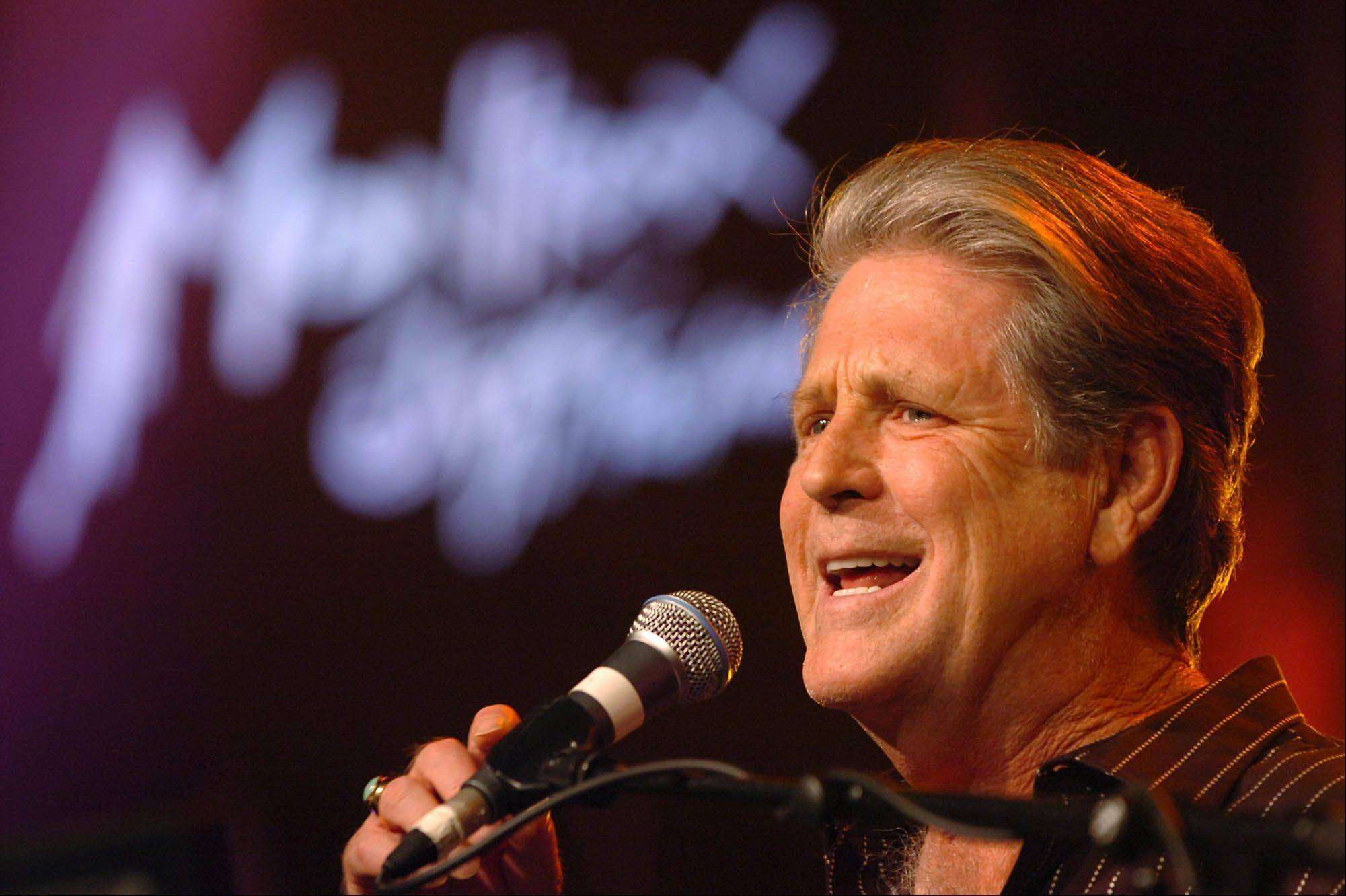 Brian Wilson performs on the Stravinski Hall stage in 2005 during the 39th Montreux Jazz Festival in Montreux, Switzerland.