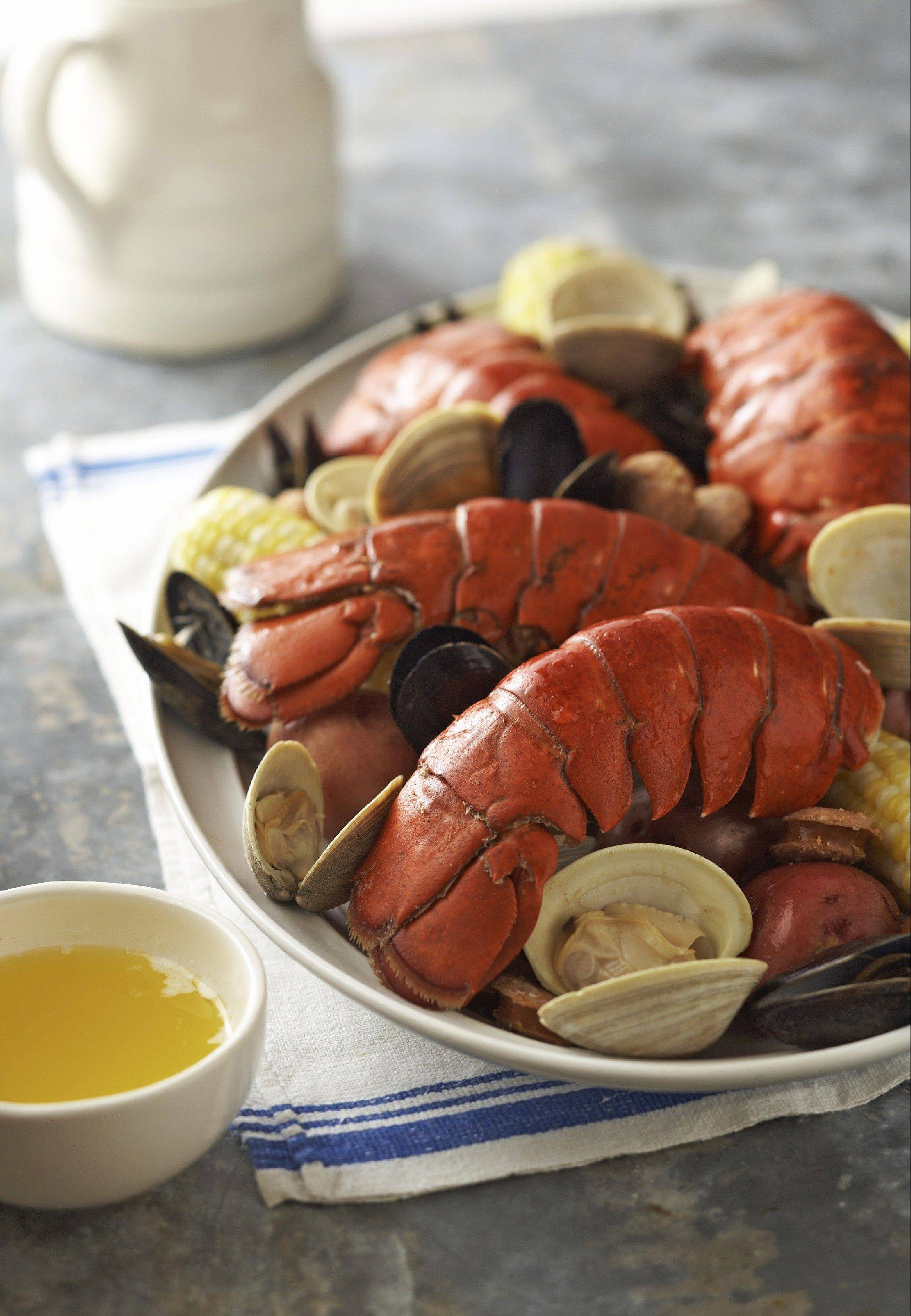 Clambake on the Grill