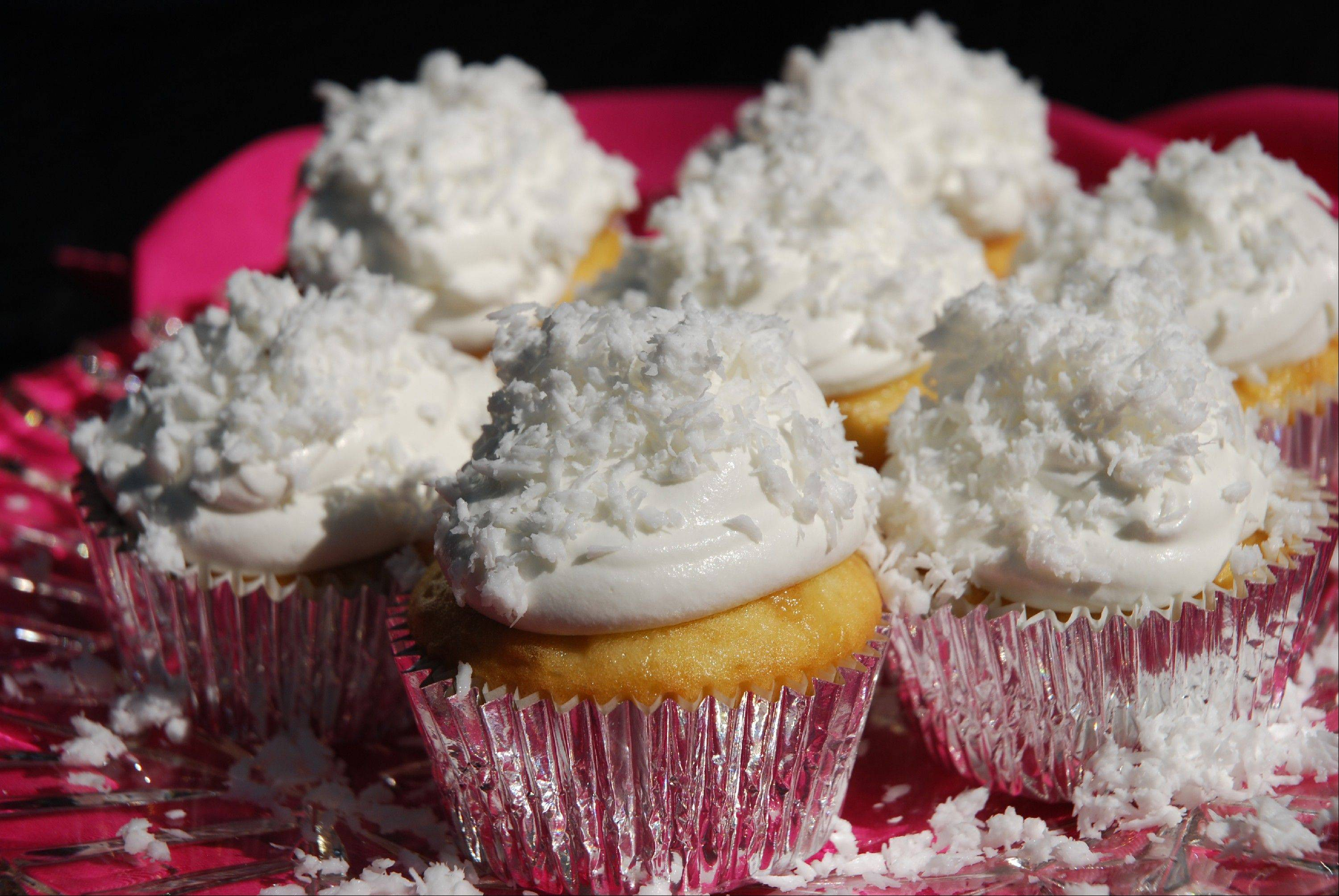 For the same price as one gourmet shop cupcake you can bake these Cuckoo Coconut Cupcakes at home.