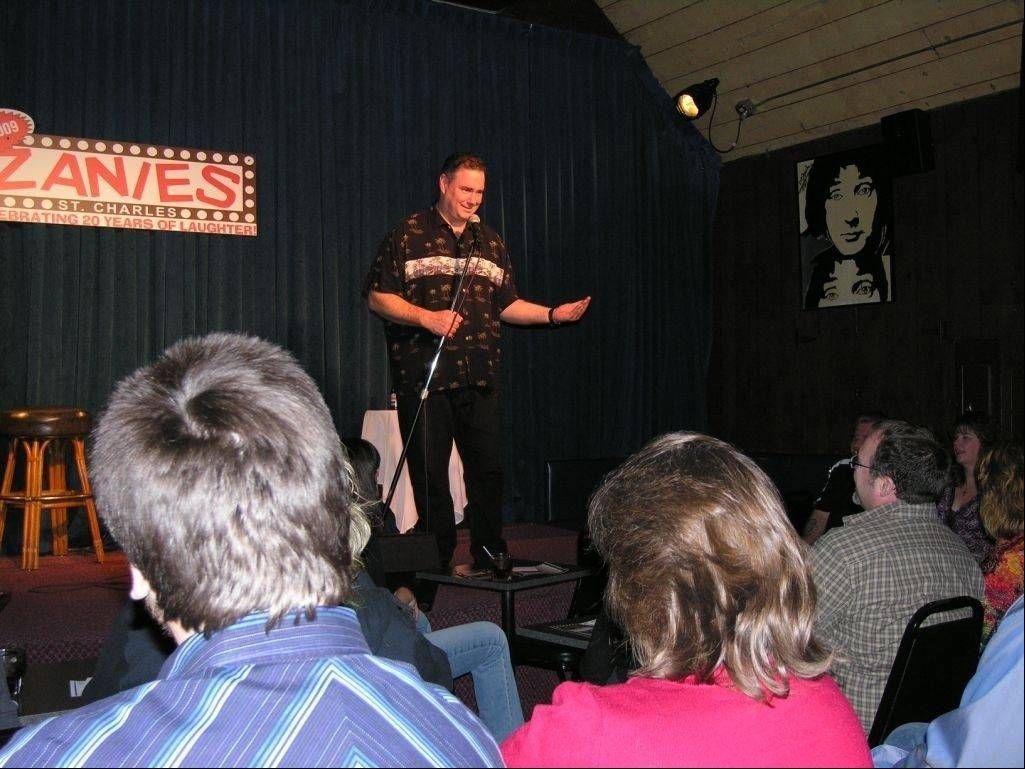 Comics will compete at Zanies in St. Charles for the chance to advance to the World Series of Comedy.