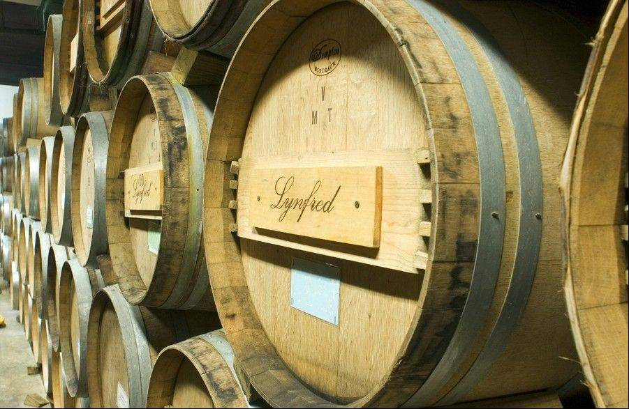 Lynfred Winery now produces 28,000 cases of wine per year and attracts 110,000 visitors to its site in Roselle