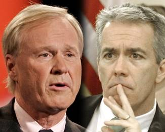 MSNBC commentator Chris Matthews, and Eighth Illinois District Rep. Joe Walsh.