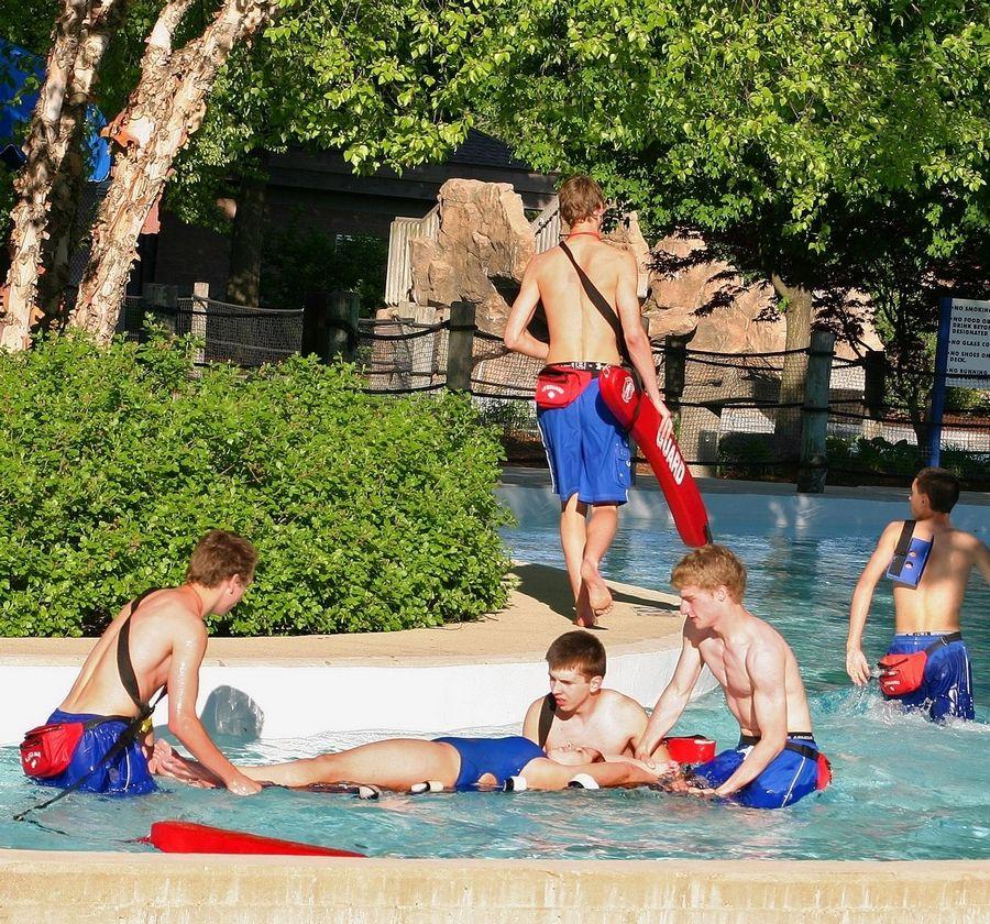 d355de40f24 Des Plaines lifeguards earn safety award