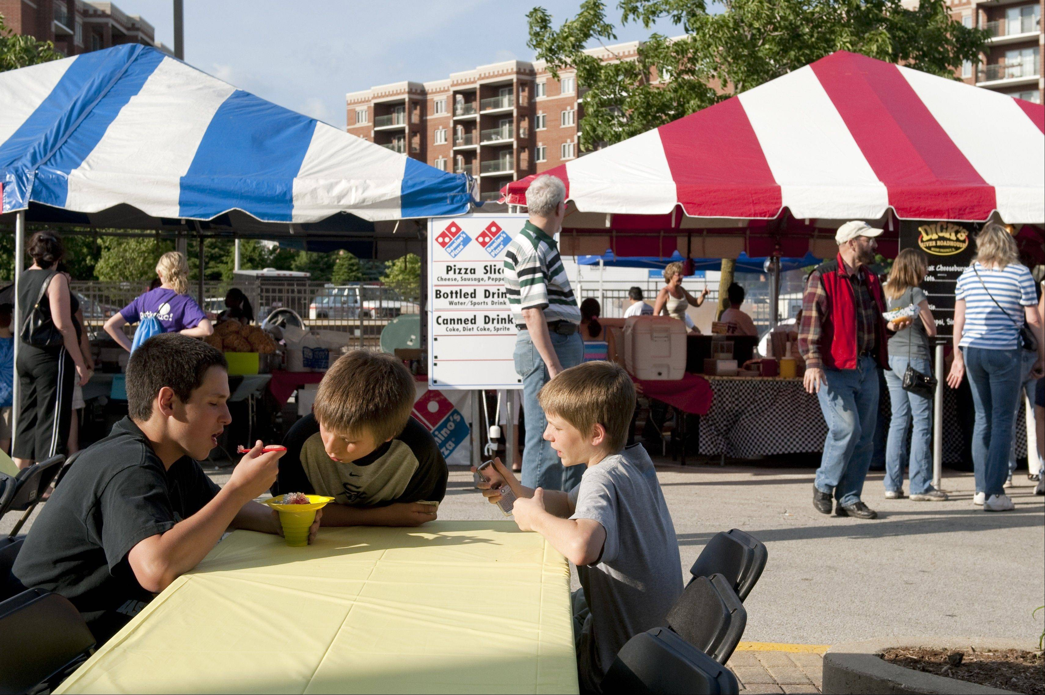 The Taste of Des Plaines, which ended in 2010, was focused on the food. Food will still be a big part of the Fling, organizers say.
