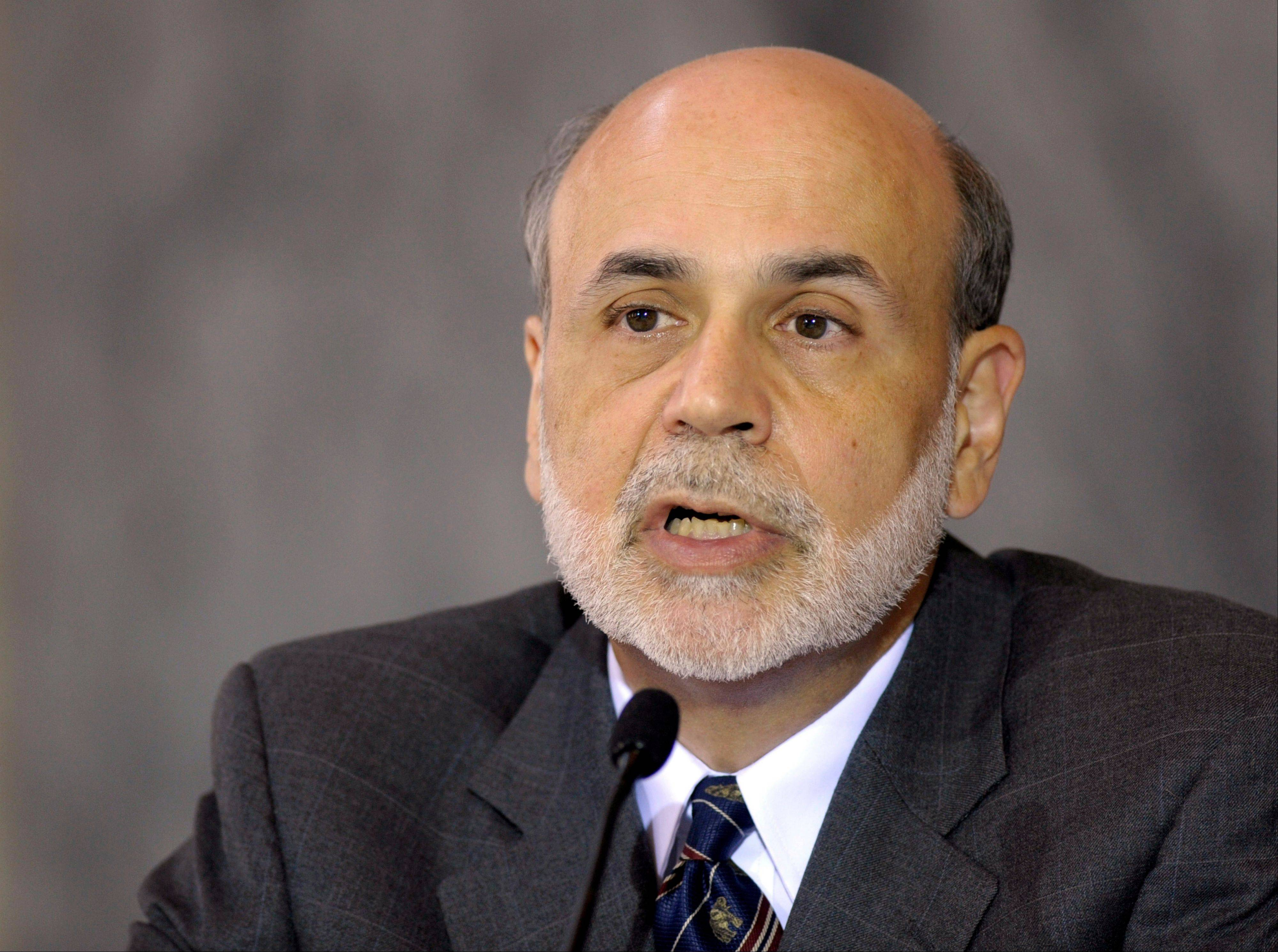Federal Reserve Board Chairman Ben Bernanke speaks at the Financial Stability Council meeting Monday on the one-year anniversary of the Dodd-Frank Reform and Consumer Protection Act.