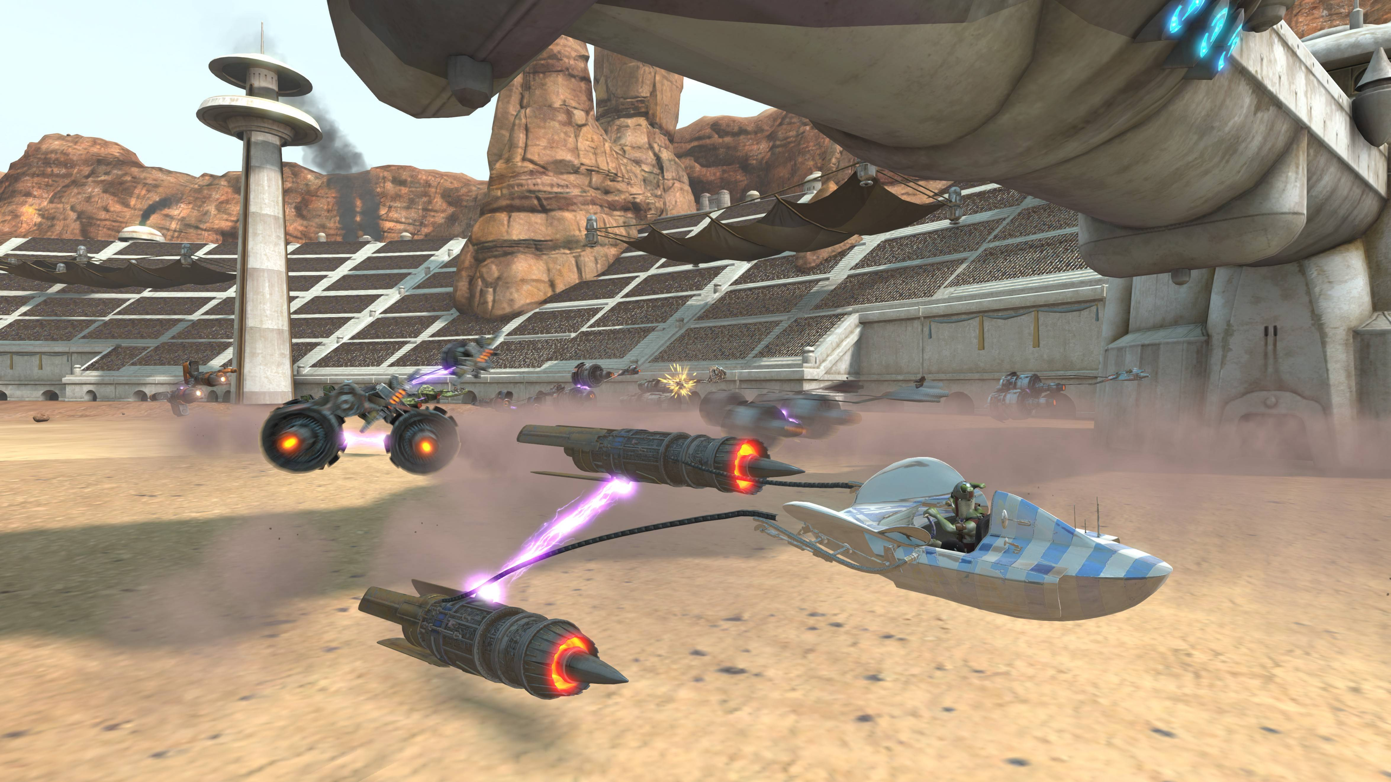 "LucasArts' ""Kinect Star Wars"" game will feature scenes from ""Star Wars: Episode I: The Phantom Menace."""