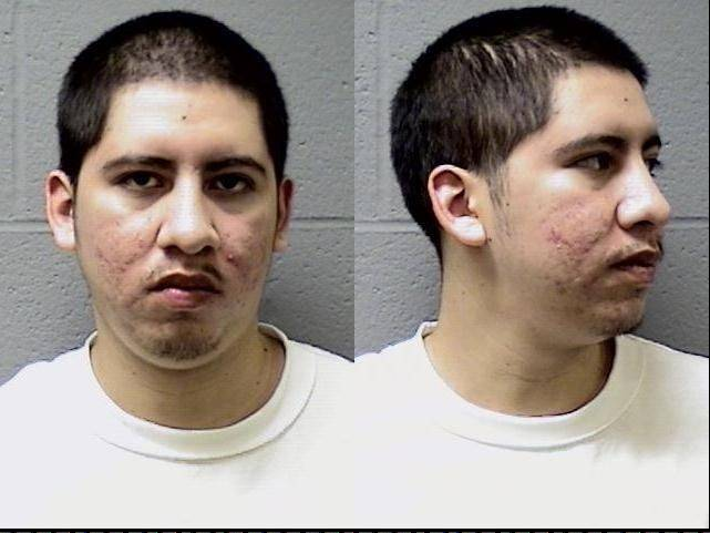 Joe Espinoza was arrested as part of a joint sweep conducted by the Elgin Police Department and the U.S. Marshals on July 21.