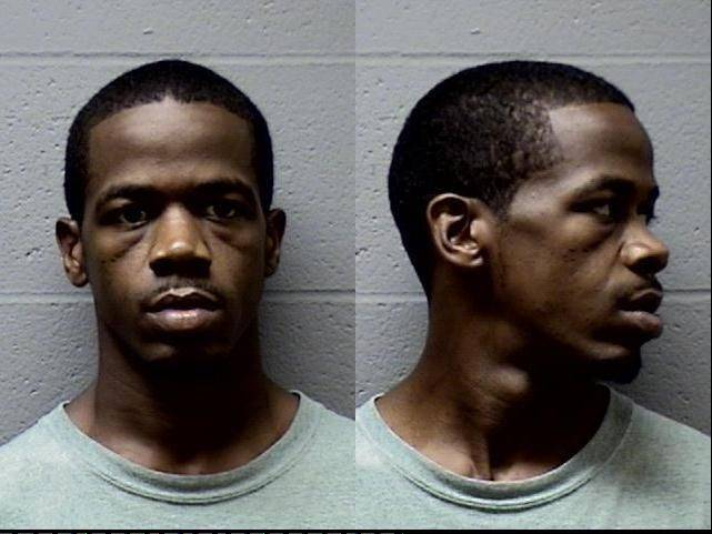 Eugene Sims was arrested as part of a joint sweep conducted by the Elgin Police Department and the U.S. Marshals on July 21.