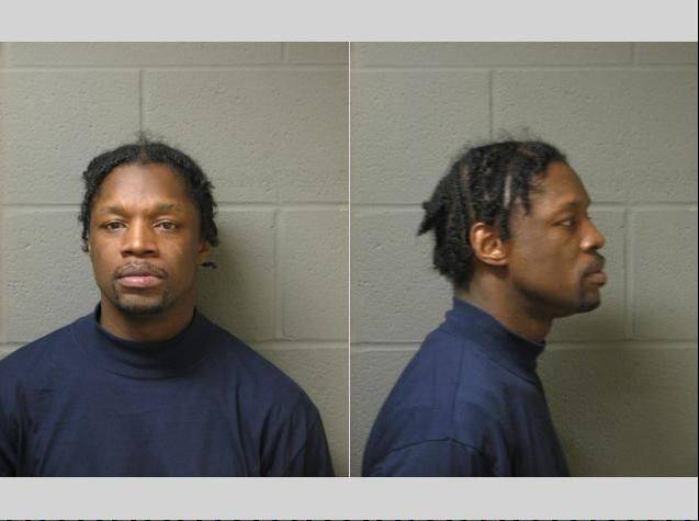 James Johnson was arrested as part of a joint sweep conducted by the Elgin Police Department and the U.S. Marshals on July 21.