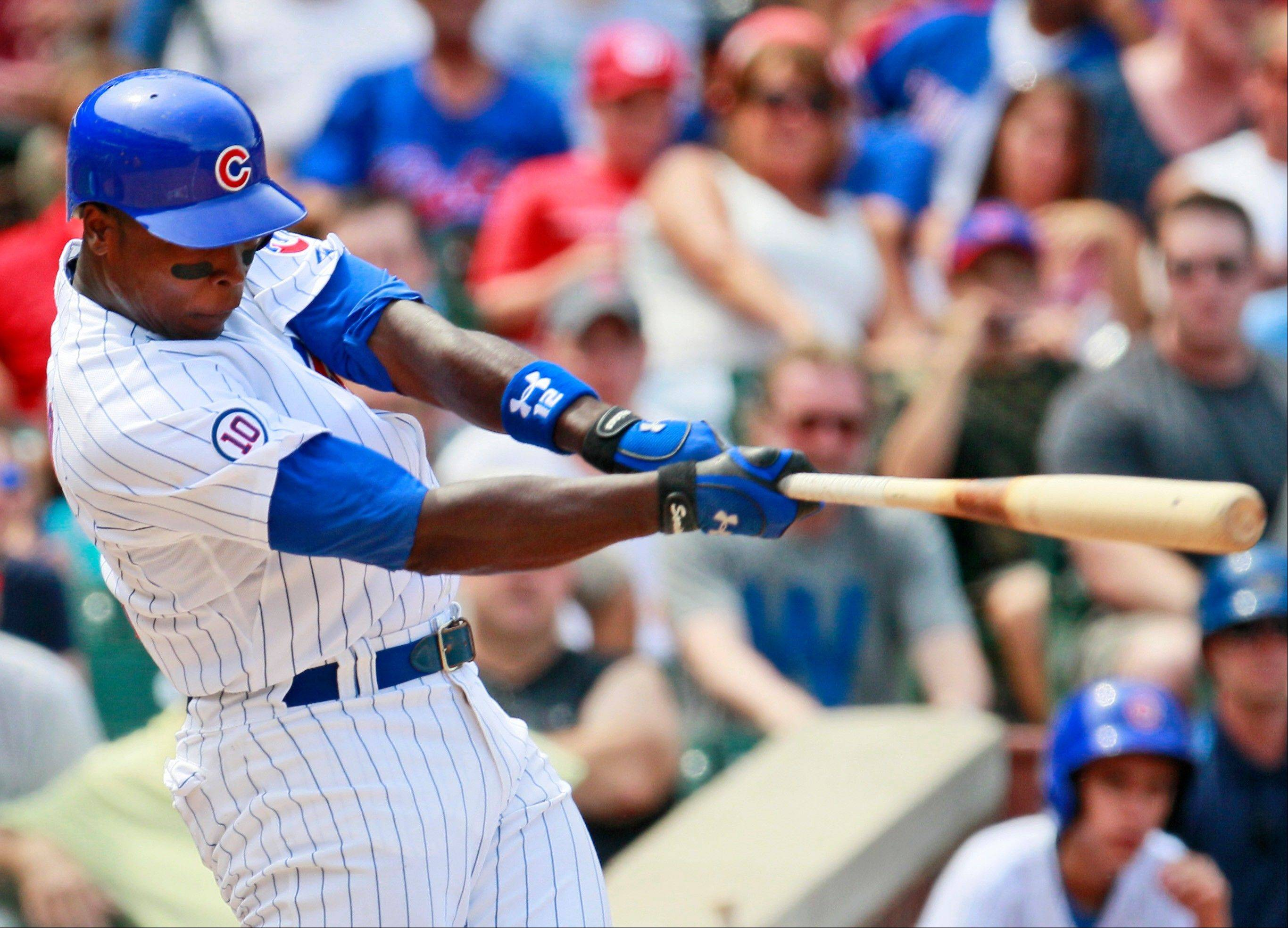 Alfonso Soriano's solo homer helped spark a 4-run rally in the fifth inning as the Cubs beat the Astros 4-2 Friday.