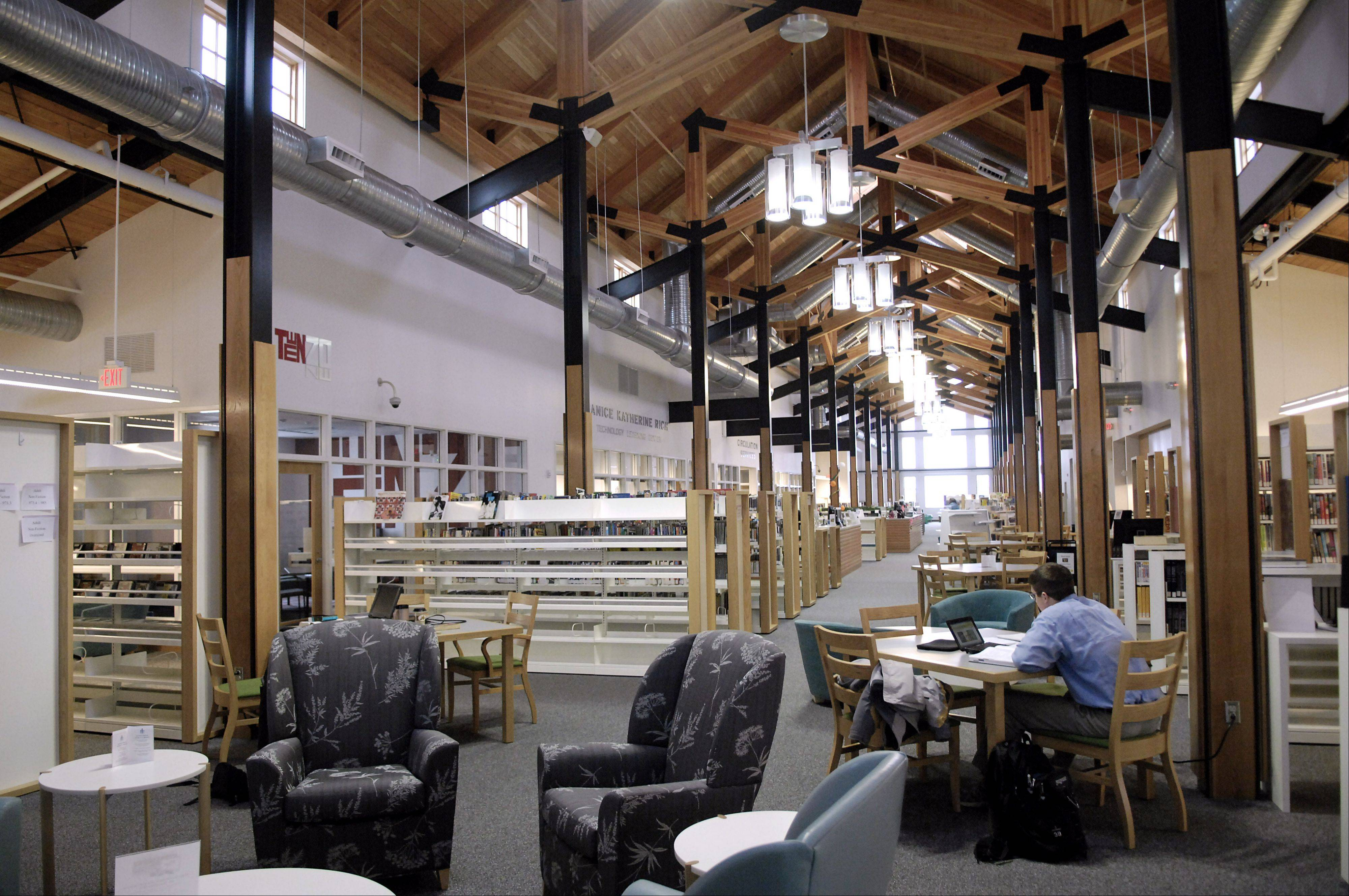 The new Sugar Grove Library opened in 2009.