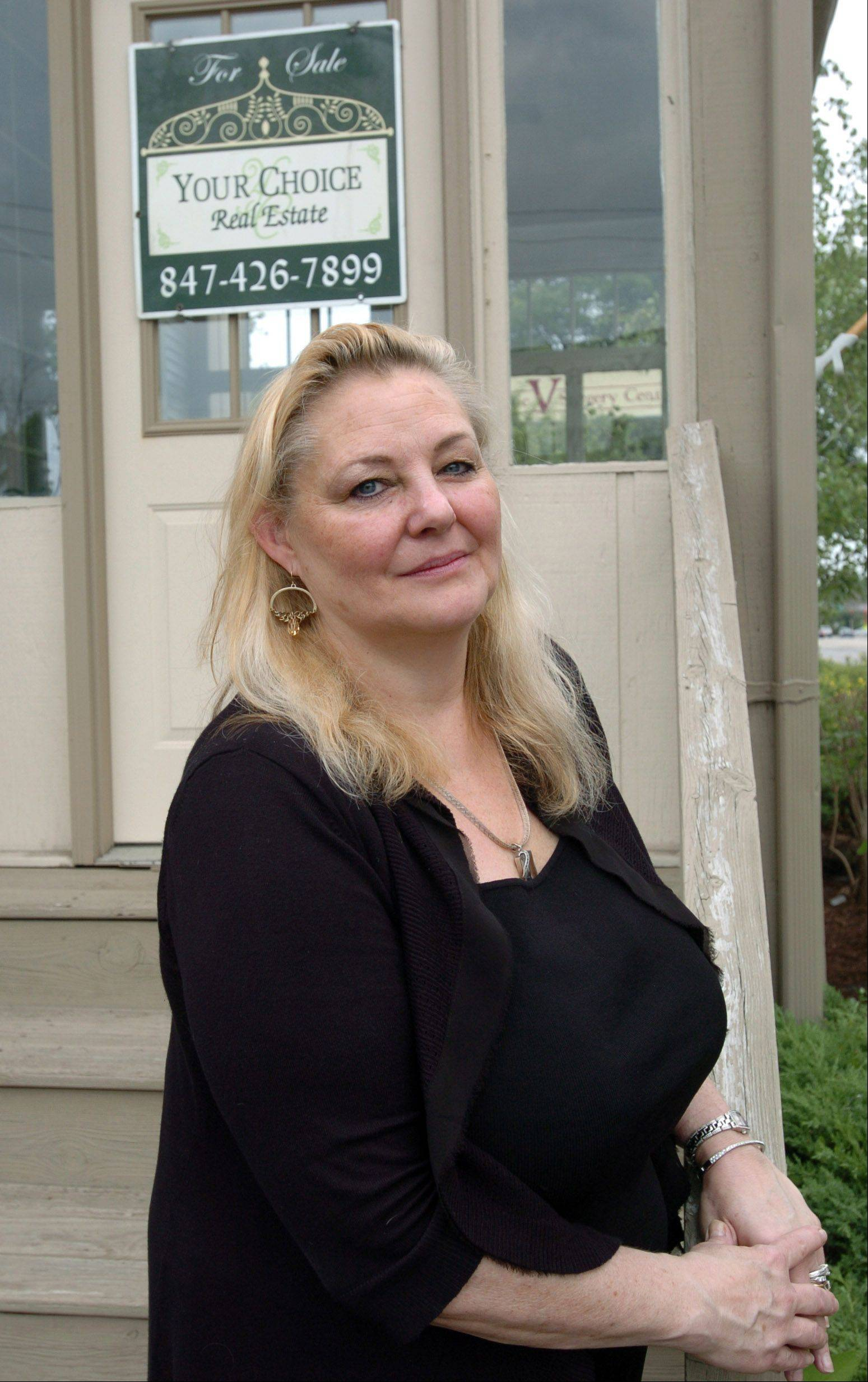 Fran Dugo of Your Choice Real Estate Services in West Dundee says the economy has created a large demand for rental homes.