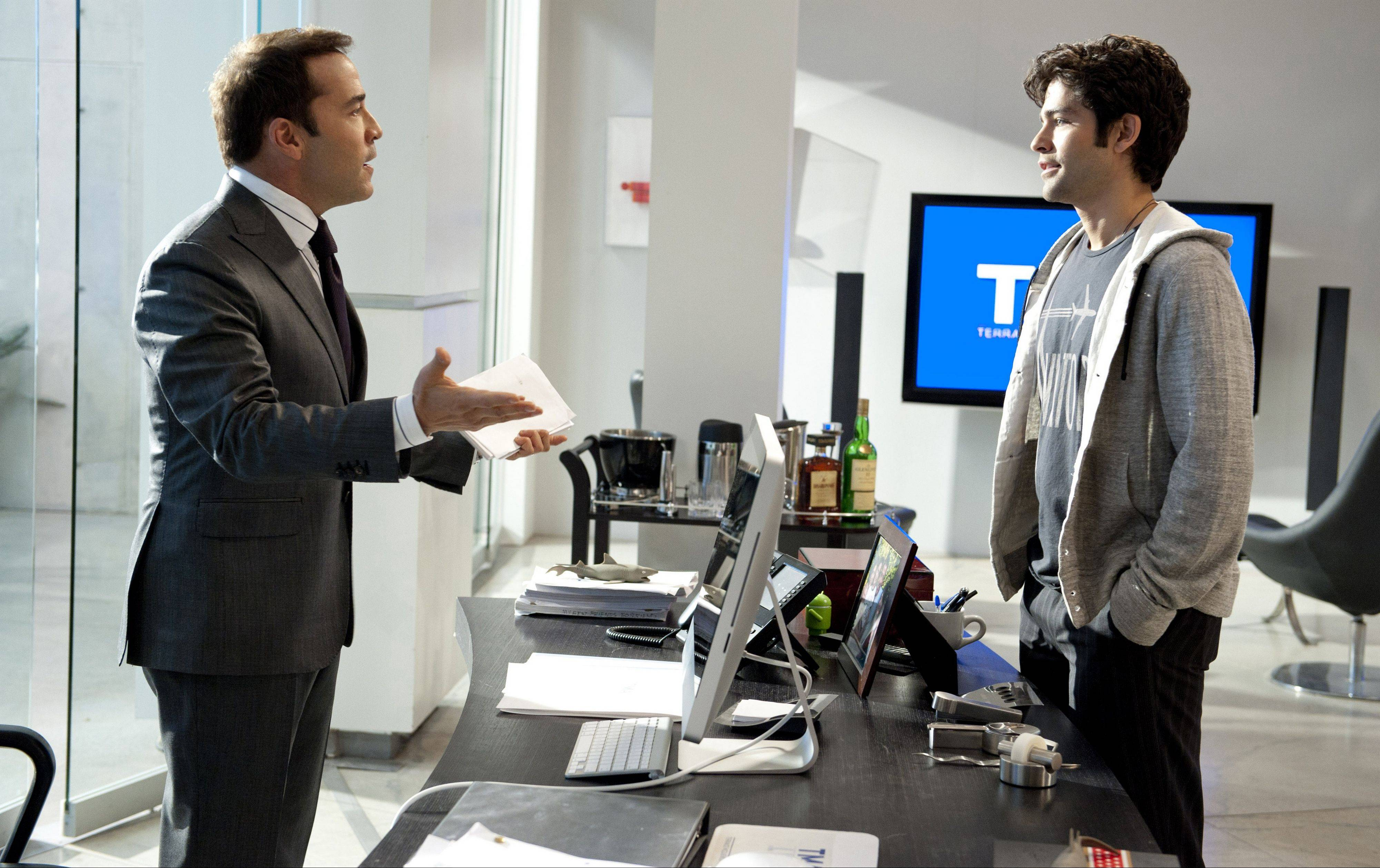 "Agent Ari Gold (Jeremy Piven) and actor Vince Chase (Adrian Grenier) return for the final season of HBO's ""Entourage."""