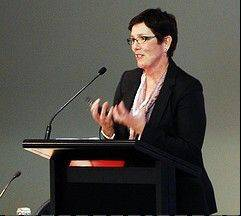 Becky Anderson, president of the American Booksellers Association, served as a panelist in July for the 2011 Booksellers New Zealand annual conference in Wellington, New Zealand.