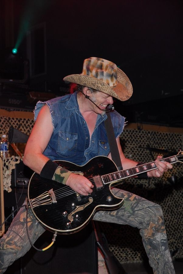 "Six years before rocker Ted Nugent played at Naperville Ribfest's in 2008, above, he whipped up a crowd at the DuPage County Fair into a frenzy. One longtime fair volunteer uses a single word to describe that 2002 performance: ""Scary."""