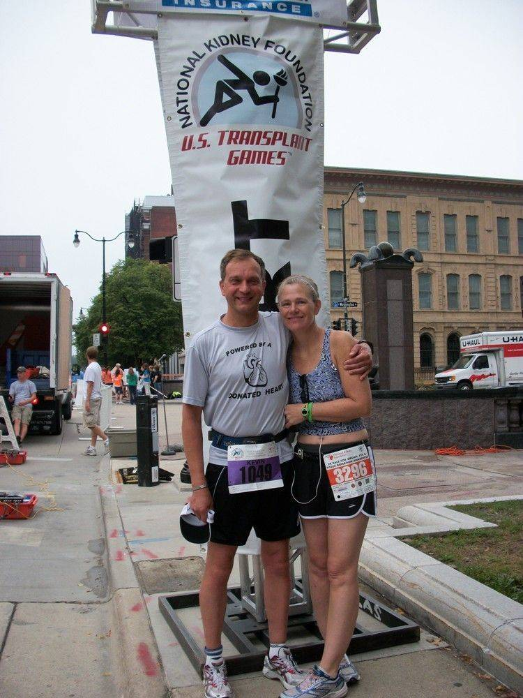 Kevin and Maureen Lue competed in the U.S. Transplant games, which brings together athletes who have benefitted from organ donation.