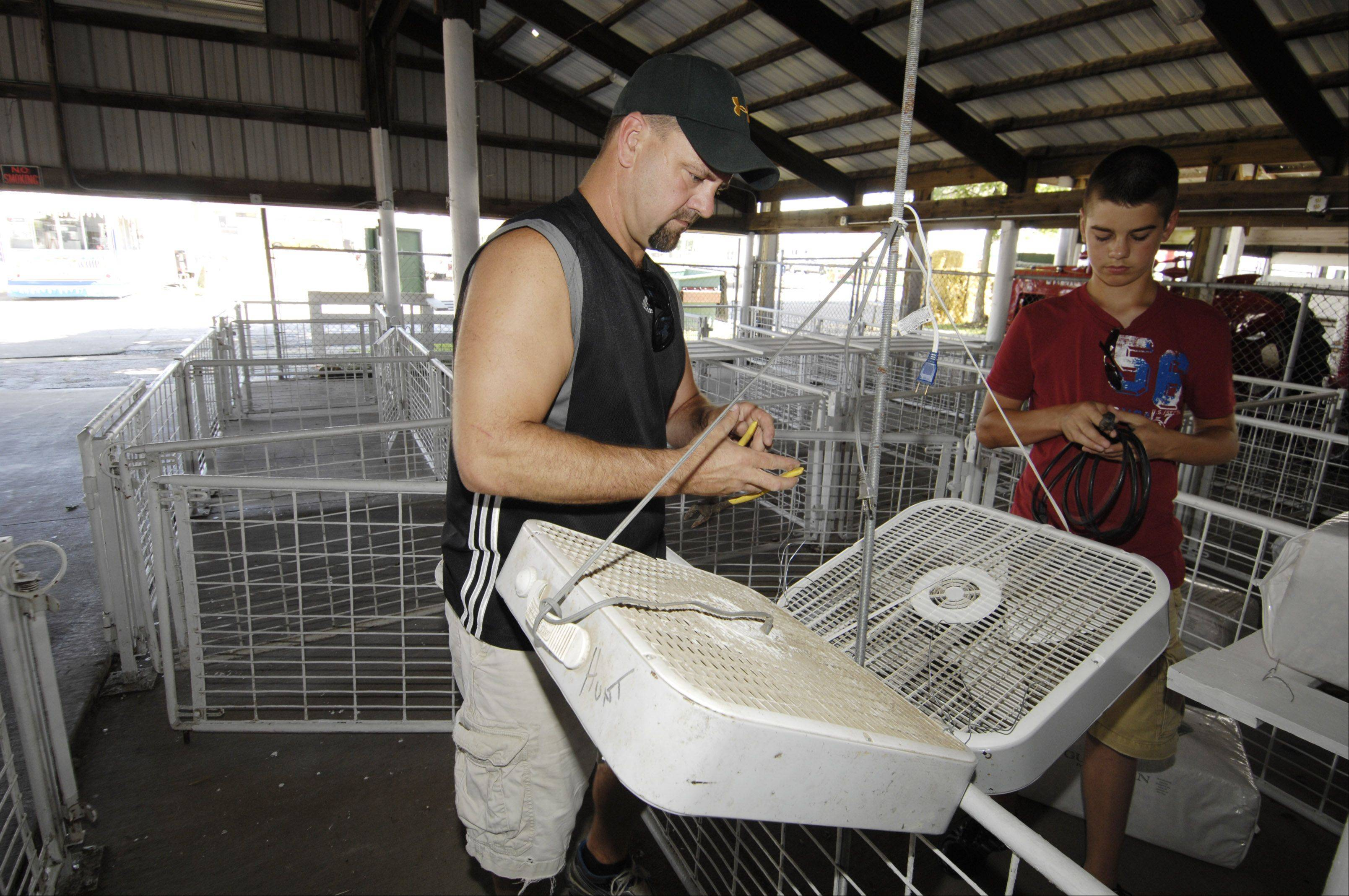 Curtain set to rise on DuPage County Fair