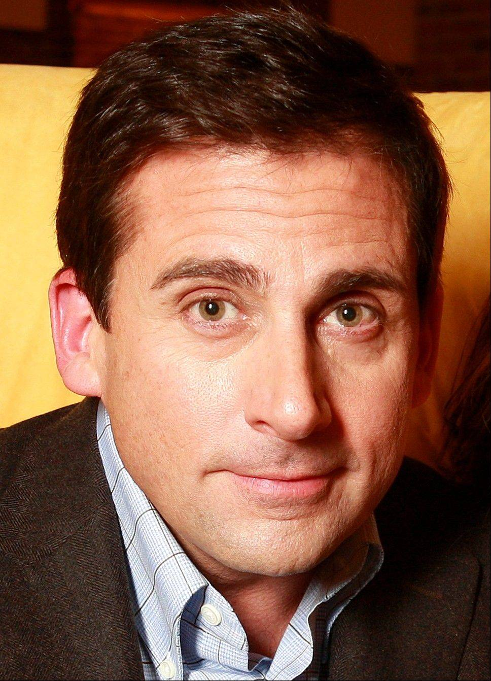 "Steve Carell left ""The Office"" character Michael Scott behind only a few months ago, but he's upbeat about the movie star life in front of him."