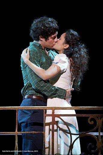 "Kyle Harris and Ali Ewoldt play the star-crossed lovers Tony and Maria in the national tour of Leonard Bernstein's ""West Side Story."""