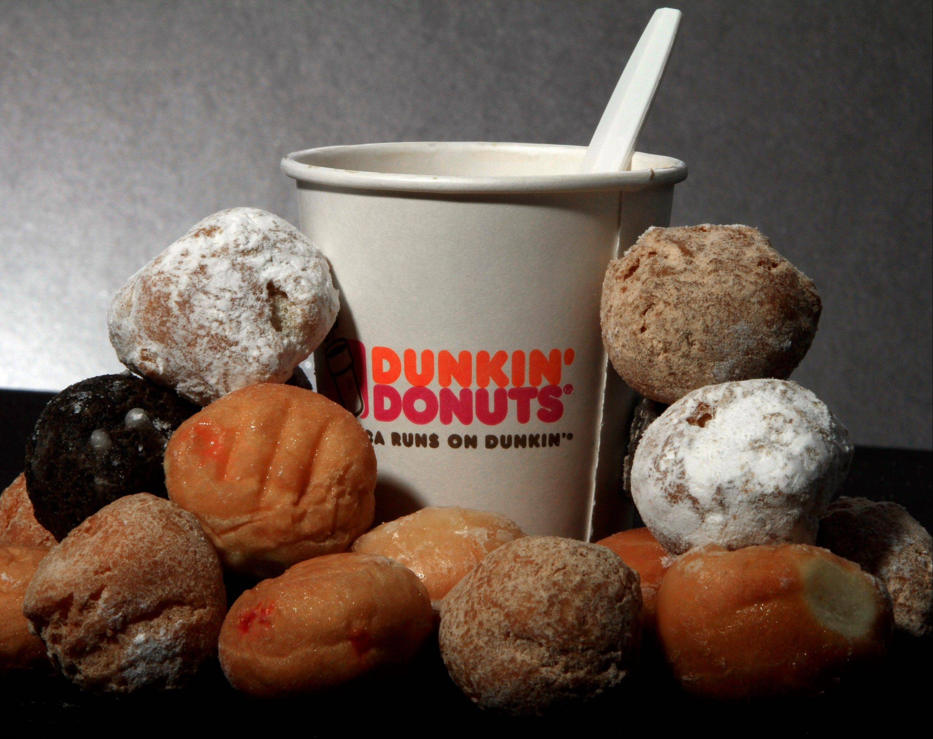 Shares of Dunkin' Brands Group Inc. shot up in trading on their first day on the Nasdaq.