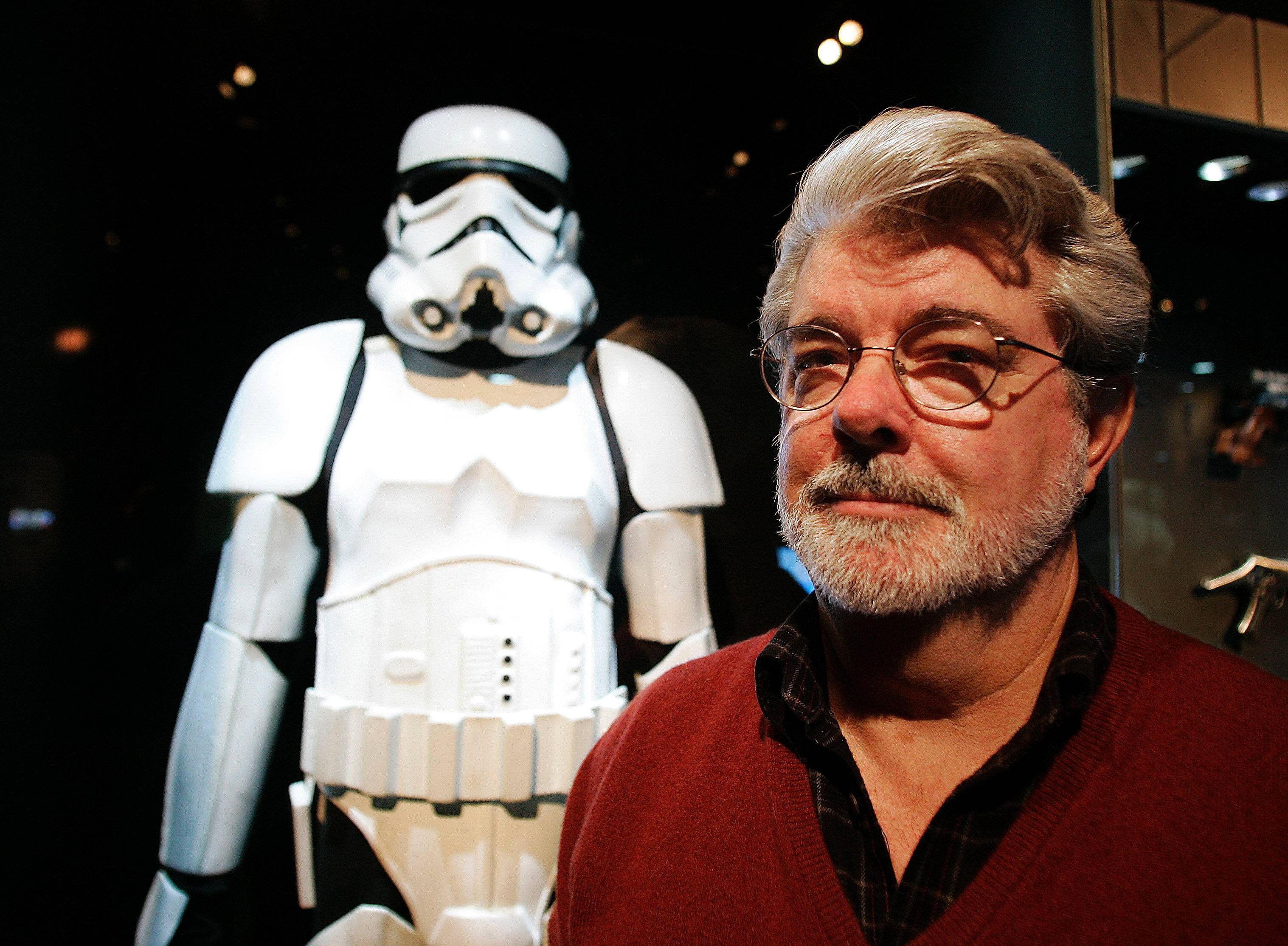 "On Wednesday, Britain's Supreme Court delivered a mixed ruling in the epic battle between George Lucas' movie empire and a prop designer over the iconic stormtrooper helmets from the ""Star Wars"" films."