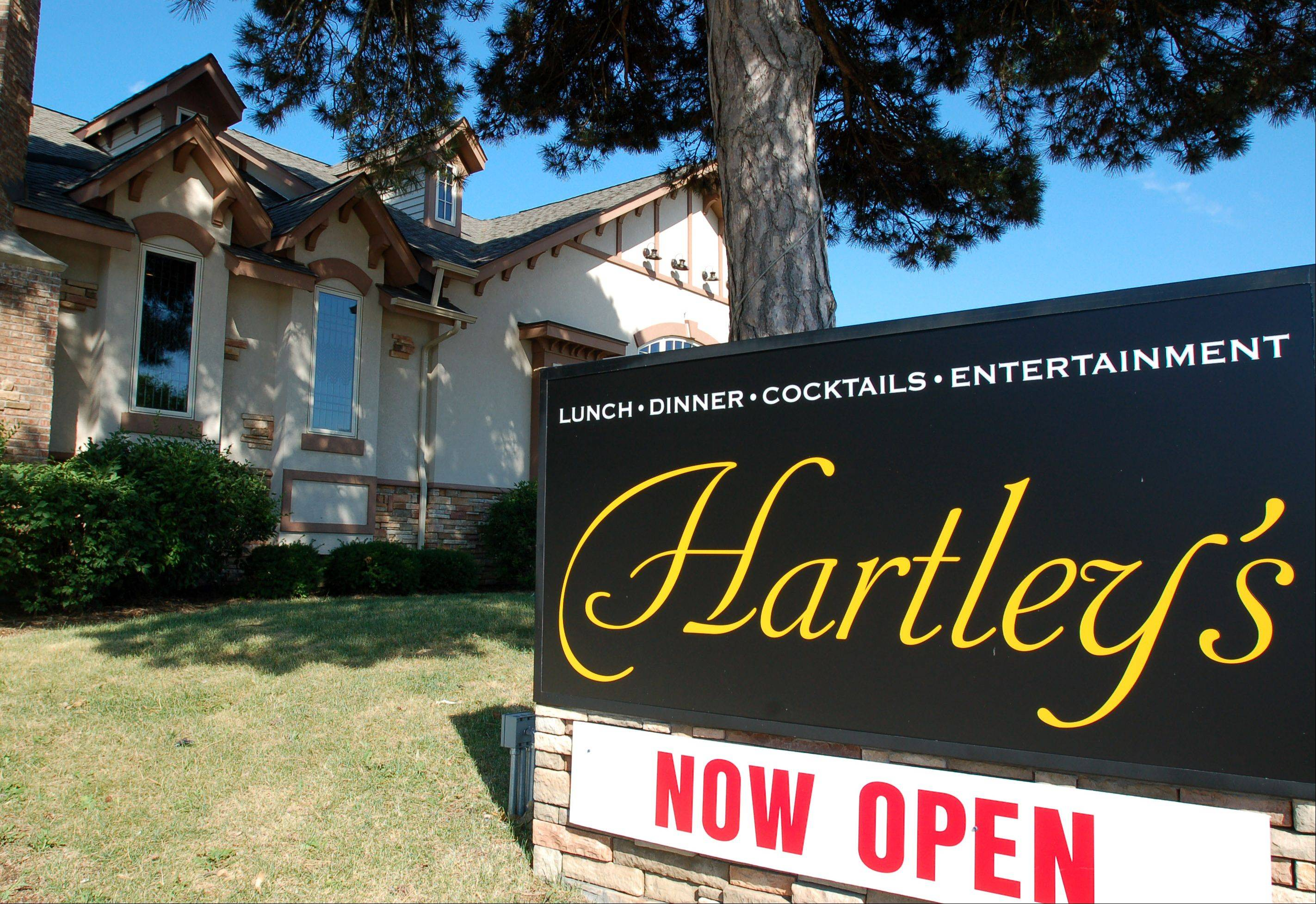 Hartley's opened in May in Crystal Lake.