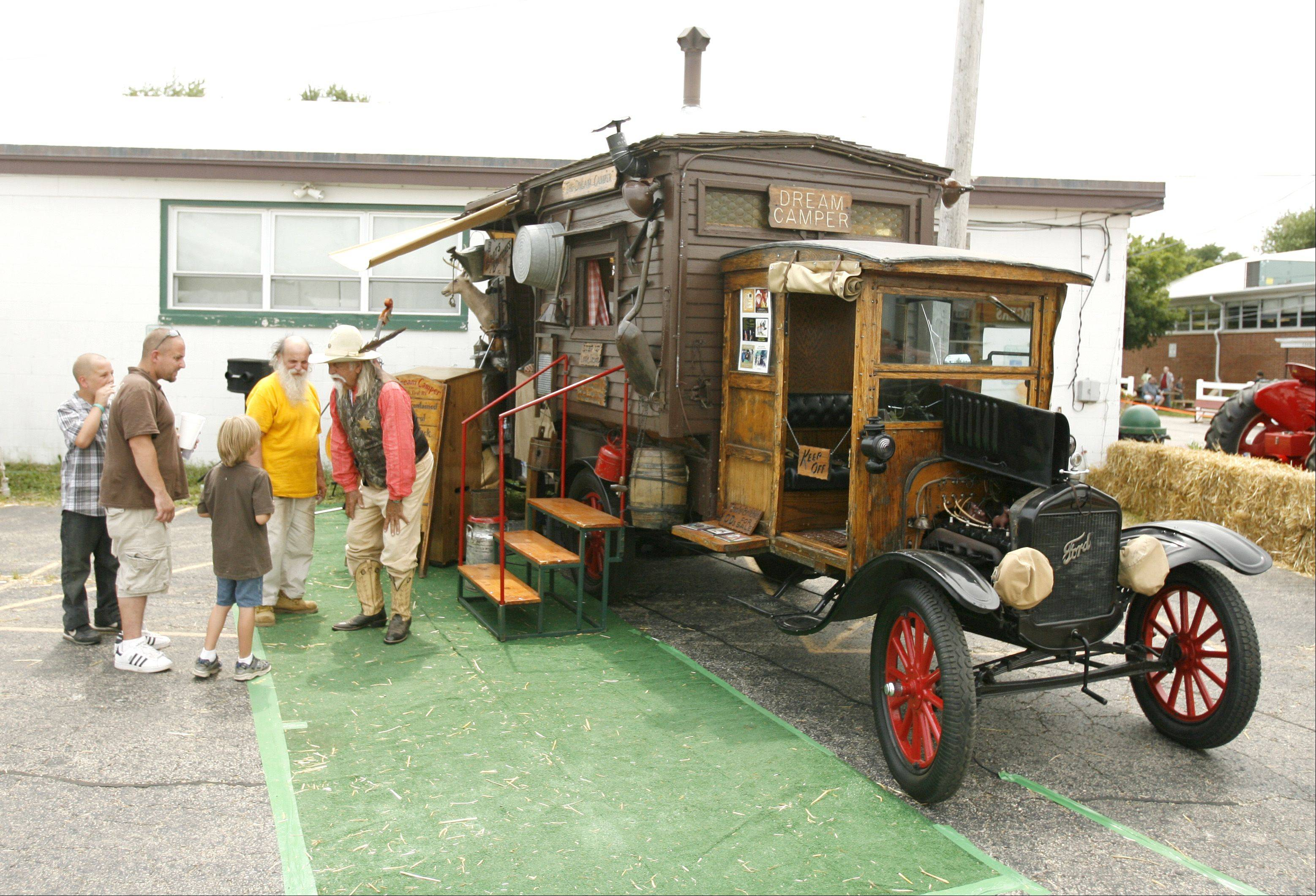 Deputy Boots talks about his dream camper, a 1923 Model T RV.