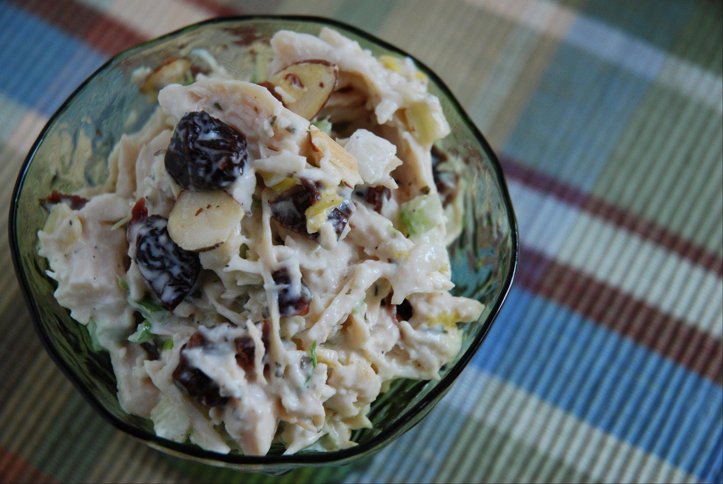 Try Cherry Almond Chicken Salad for an easy summer meal.
