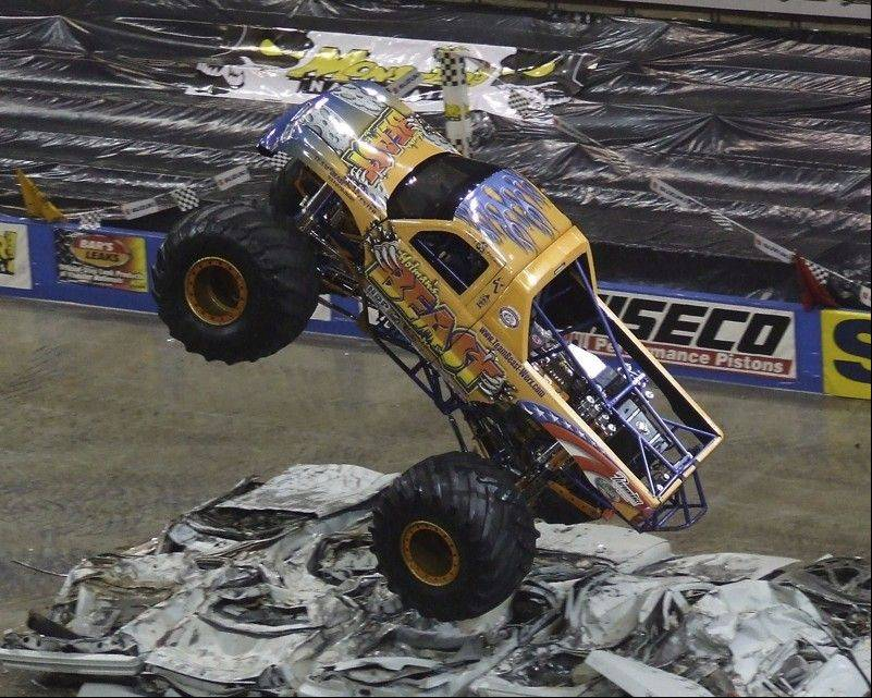 For the first time, the DuPage County Fair will feature a Monster Truck Thrill Show as its Grandstand entertainment. Shows will be at 2 and 7 p.m. Saturday and cost $7 per person.