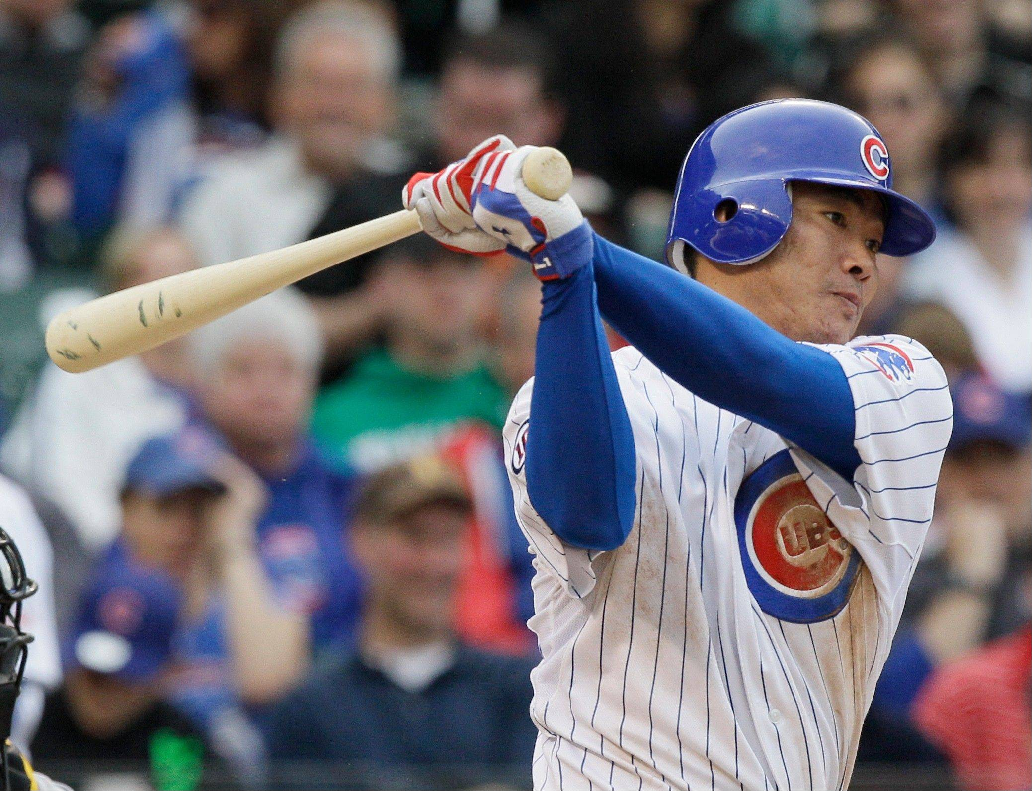After four seasons with the Cubs, outfielder Kosuke Fukudome is now the property of the Cleveland Indians. The Cubs acquired two minor league prospects in the deal.