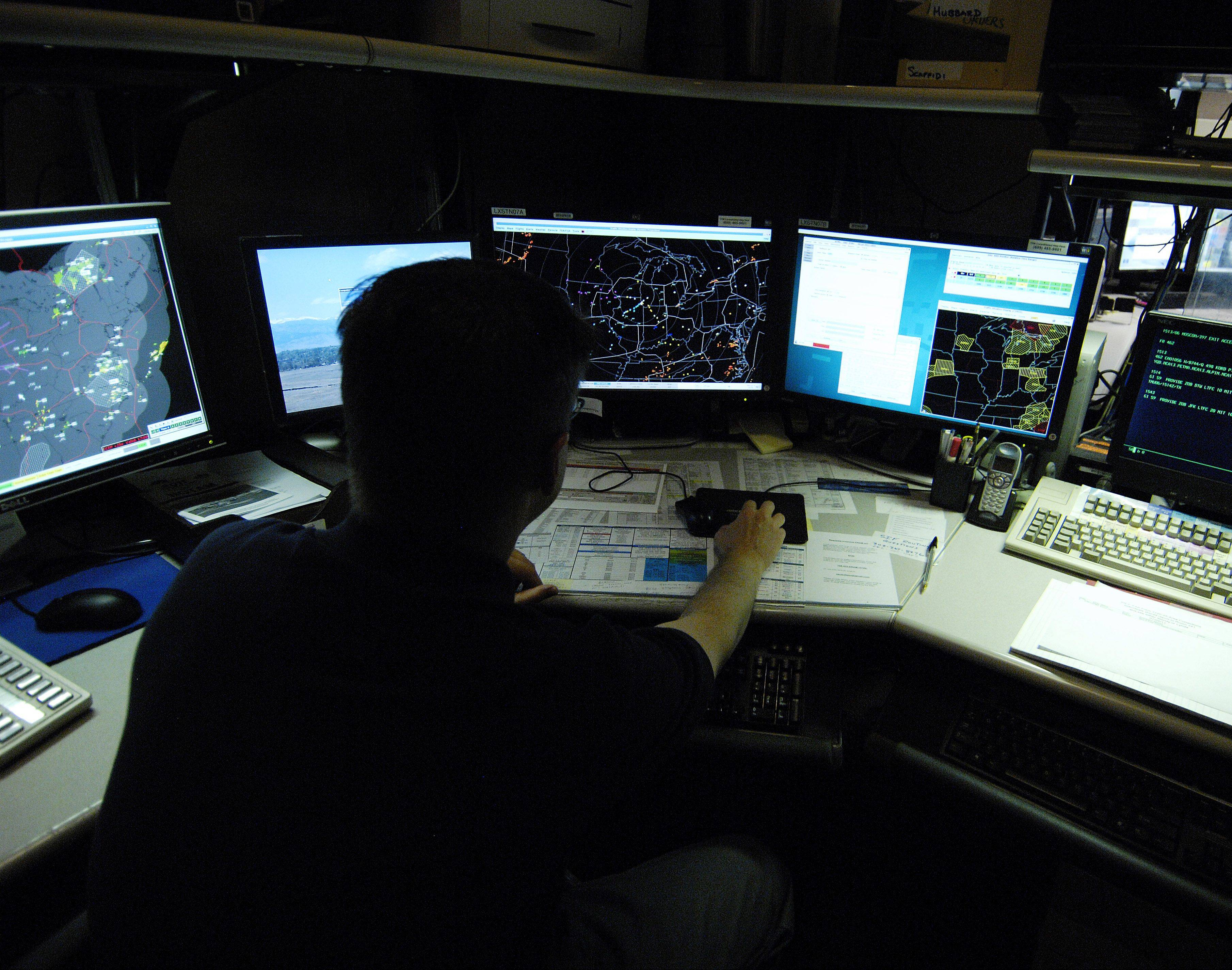 Jon Hubbard works in the Traffic Management Unit at the FAA's Chicago Air Route Traffic Control Center.