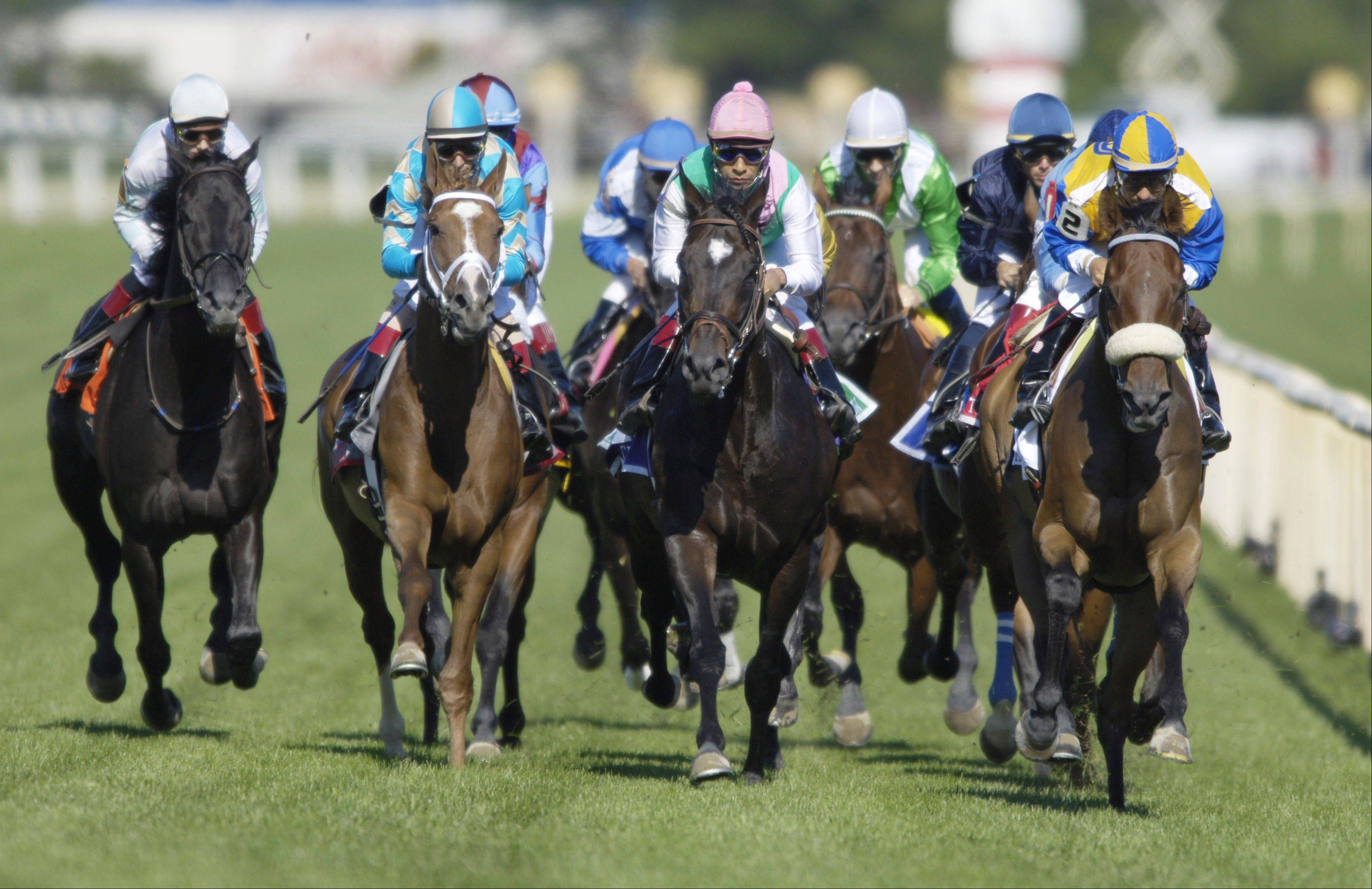 Rumblings swirling around the racetrack are that Arlington Park -- using the Churchill Downs model -- will request a handful of weekend night racing cards for the 2012 season when it submit a dates request to the Illinois Racing Board today.
