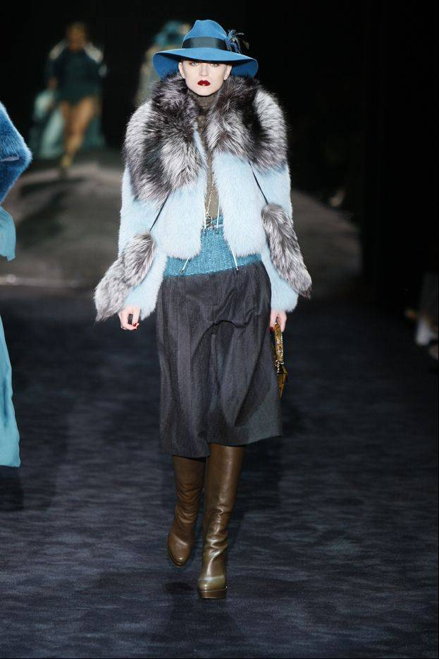 Fur makes fashion comeback