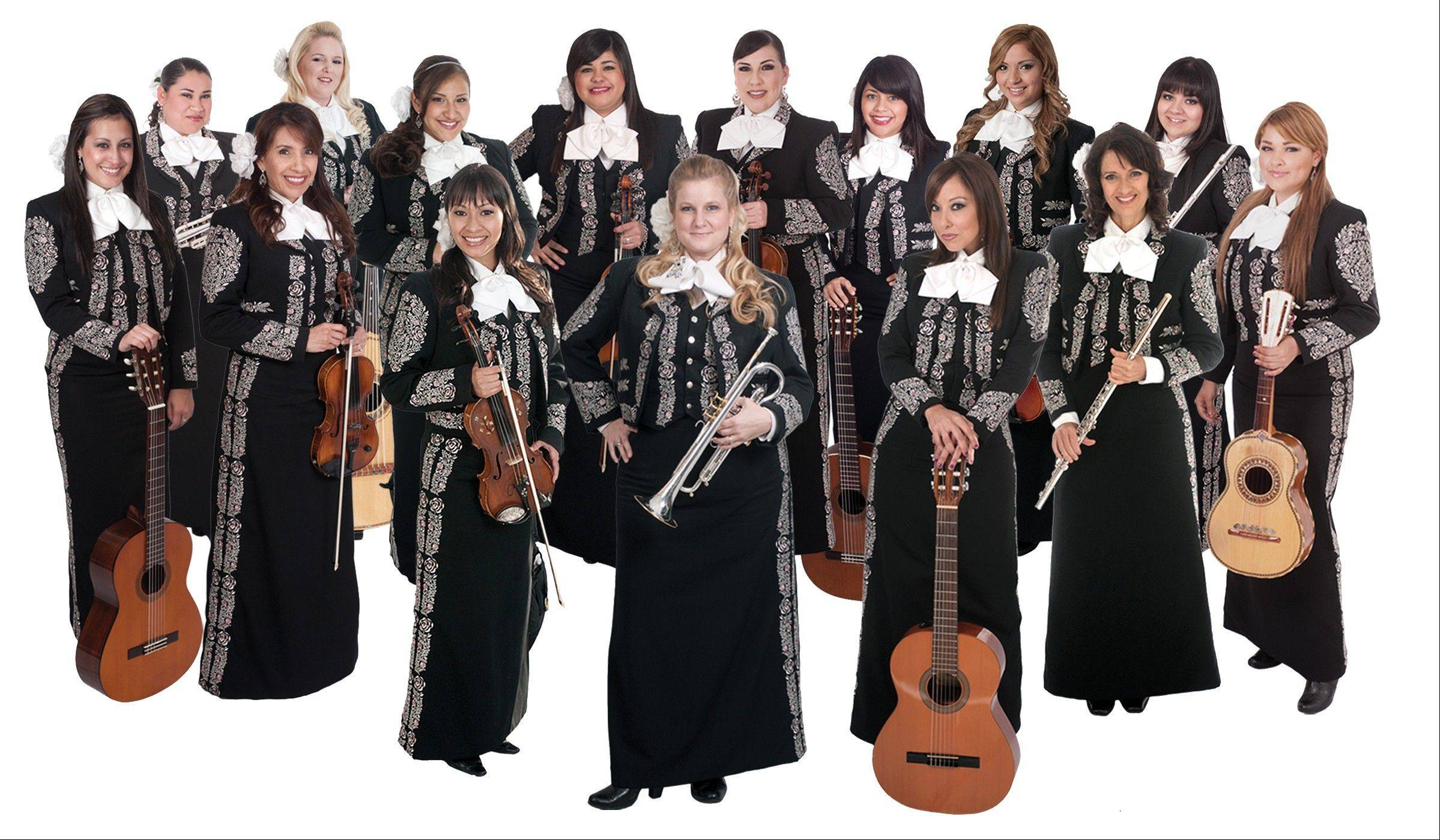 The Mariachi Divas headline the Kraft Great Kids Concert Saturday at Ravinia Festival.