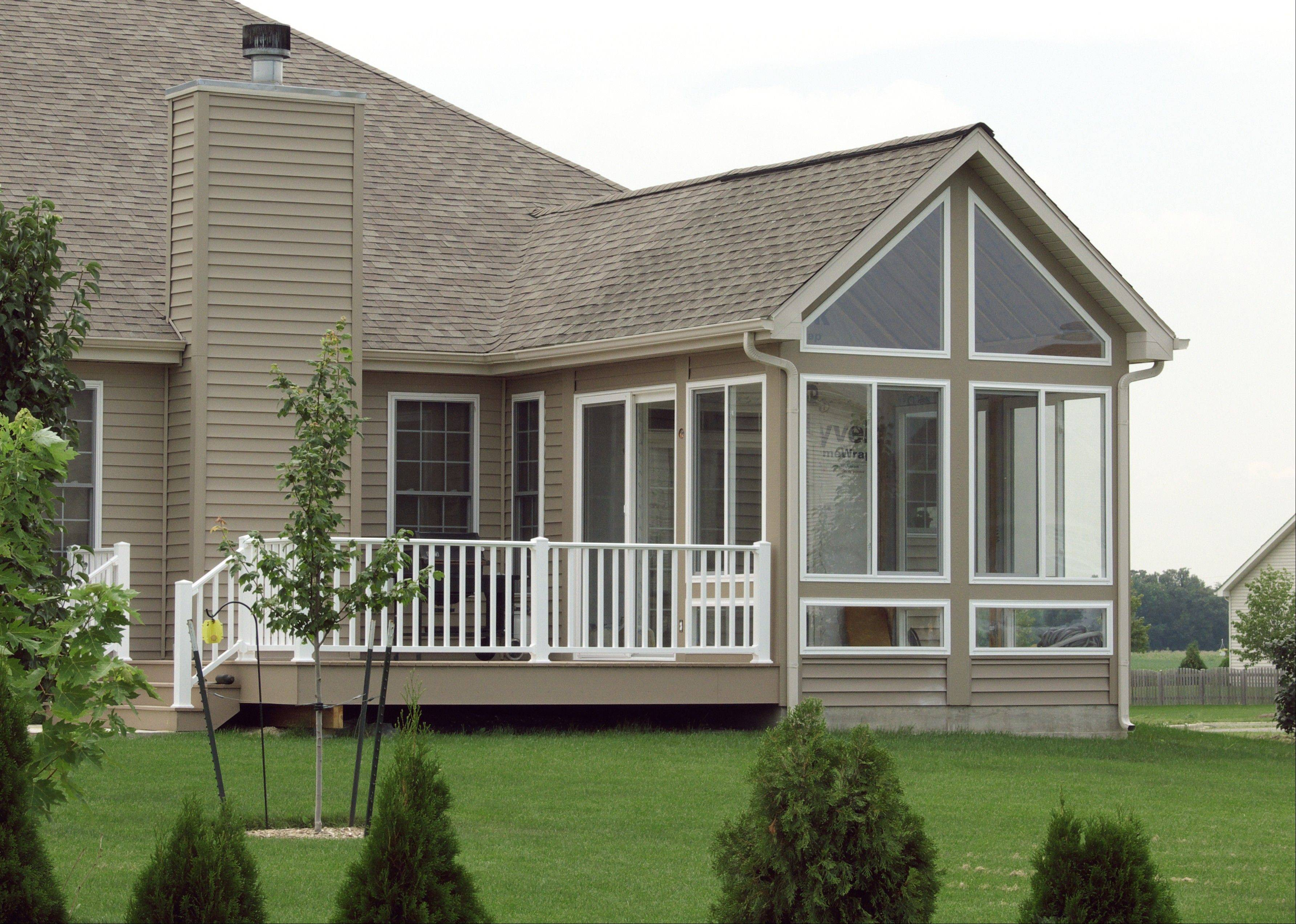 Timberbuilt sunrooms can be either a three-season or four-season room, depending on window and heating options.