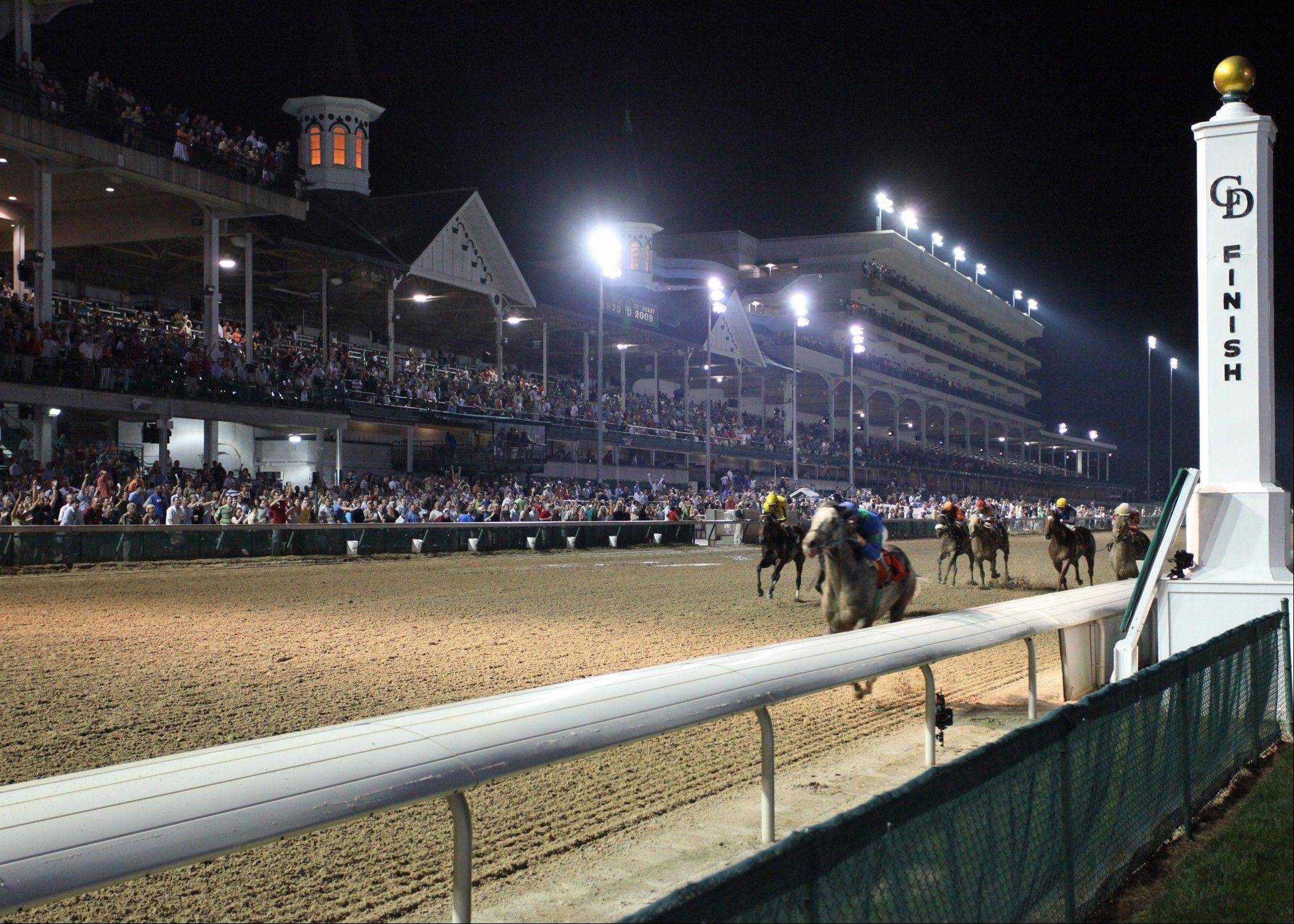 Arliington Park may seek permission to have night races like Churchill Downs has in Louisville, Ky.