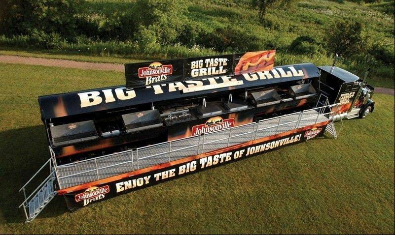 Johnsonville's Big Taste Grill will roll into Arlington Heights Saturday, Aug. 13, and Vernon Hills Sunday, Aug. 14, at Mariano's Fresh Market to benefit the Elk Grove Village Rotary Club.